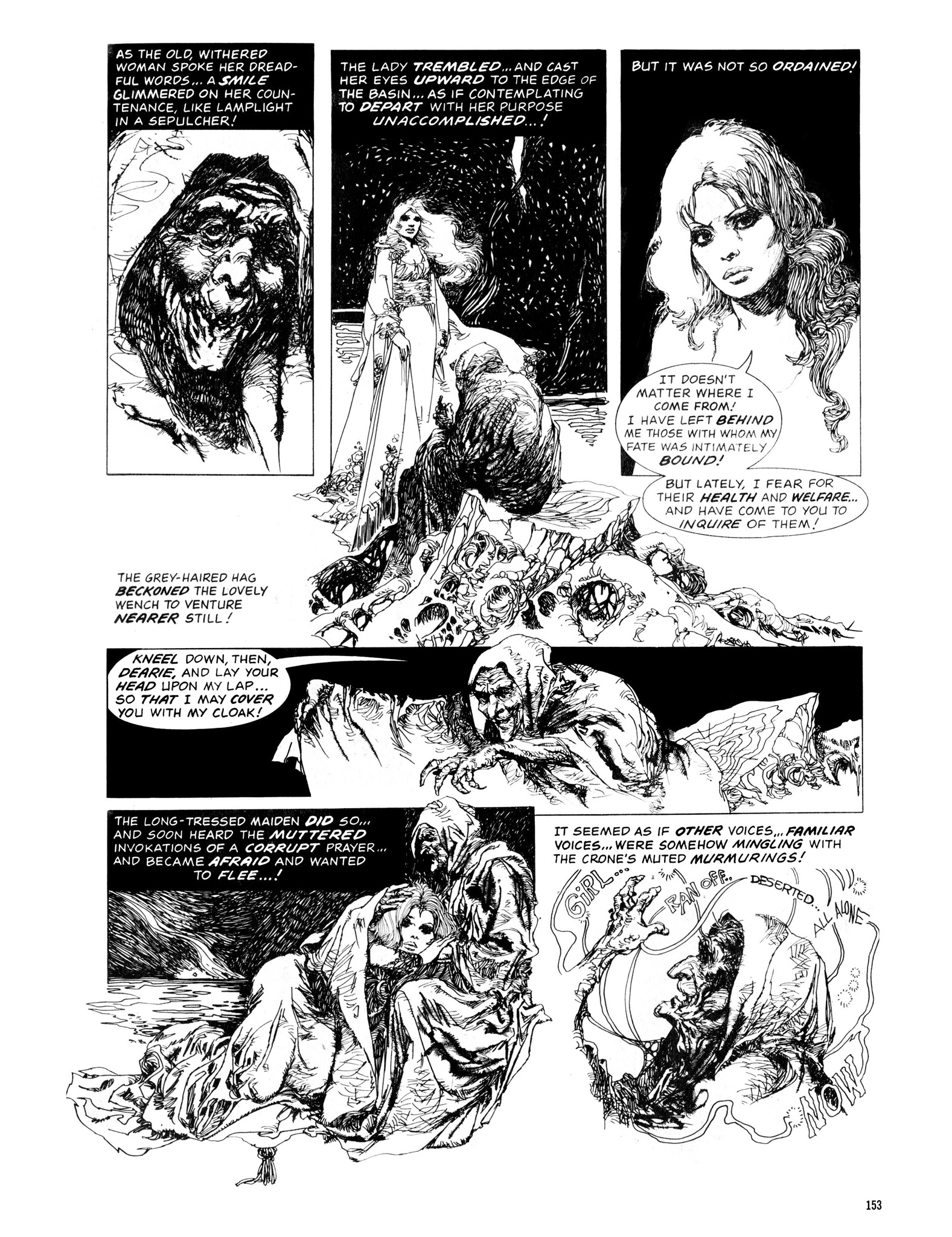 Read online Eerie Archives comic -  Issue # TPB 13 - 154
