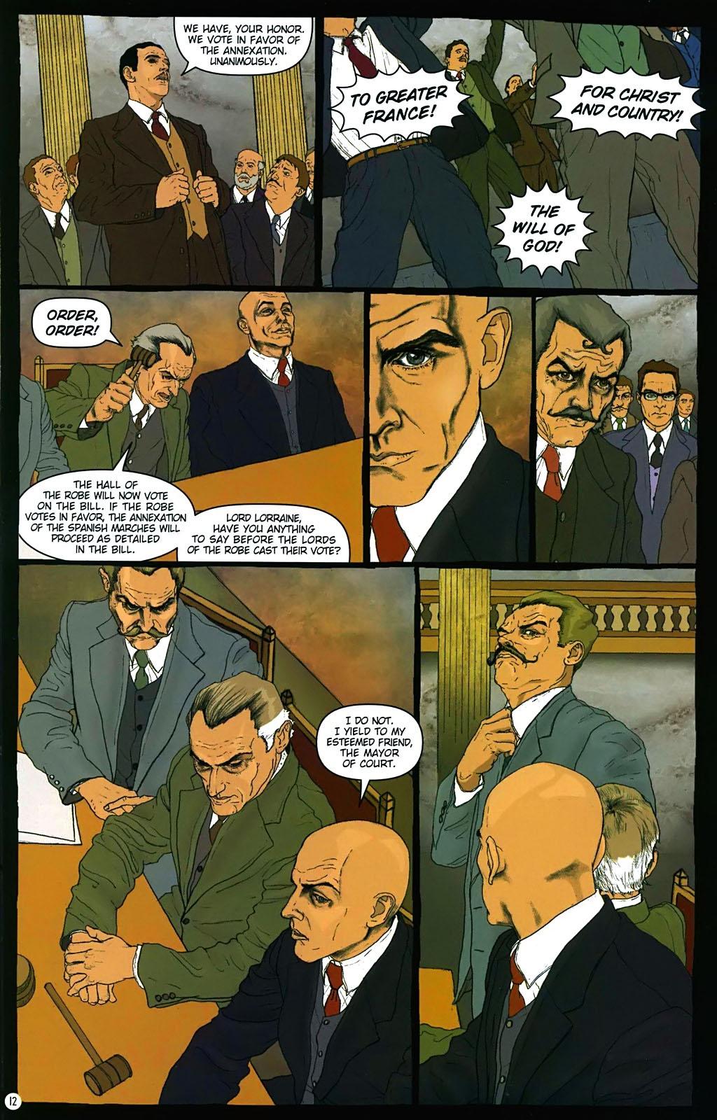 Read online Rex Mundi comic -  Issue #15 - 16