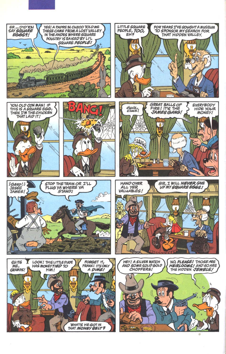 Read online Uncle Scrooge (1953) comic -  Issue #287 - 3