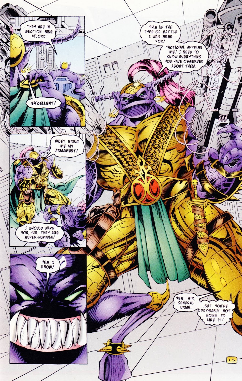 Read online The Alliance comic -  Issue #3 - 18