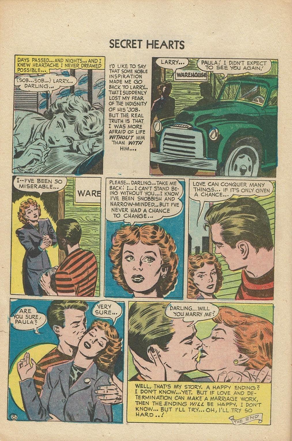 Read online Secret Hearts comic -  Issue #14 - 24