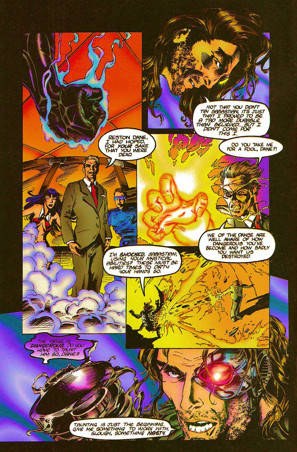 Read online Chains of Chaos comic -  Issue #2 - 4