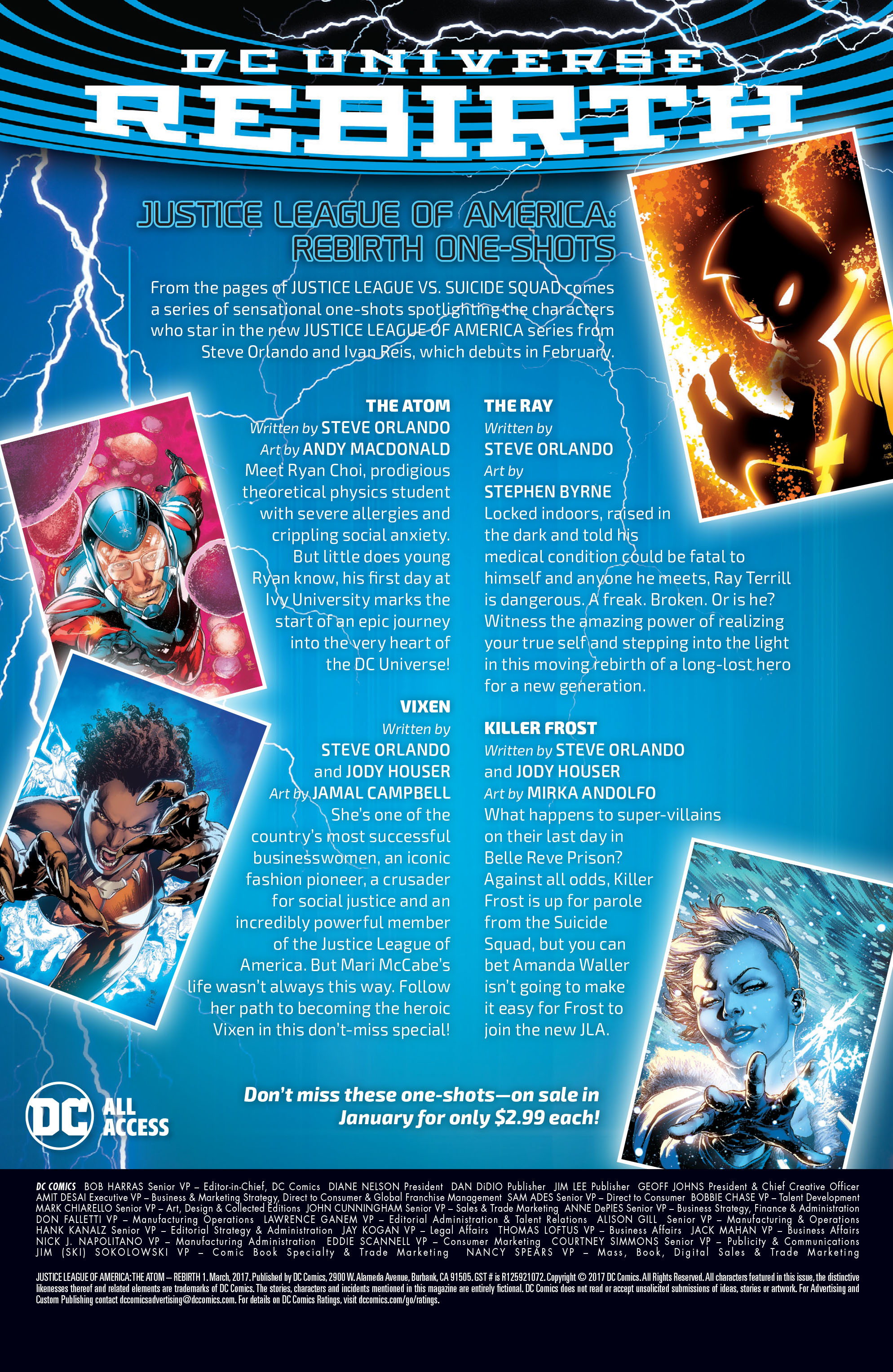 Read online Justice League of America: The Atom Rebirth comic -  Issue # Full - 24