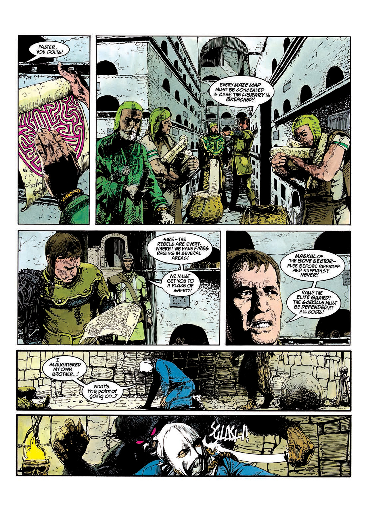 Read online Mazeworld comic -  Issue # TPB - 53