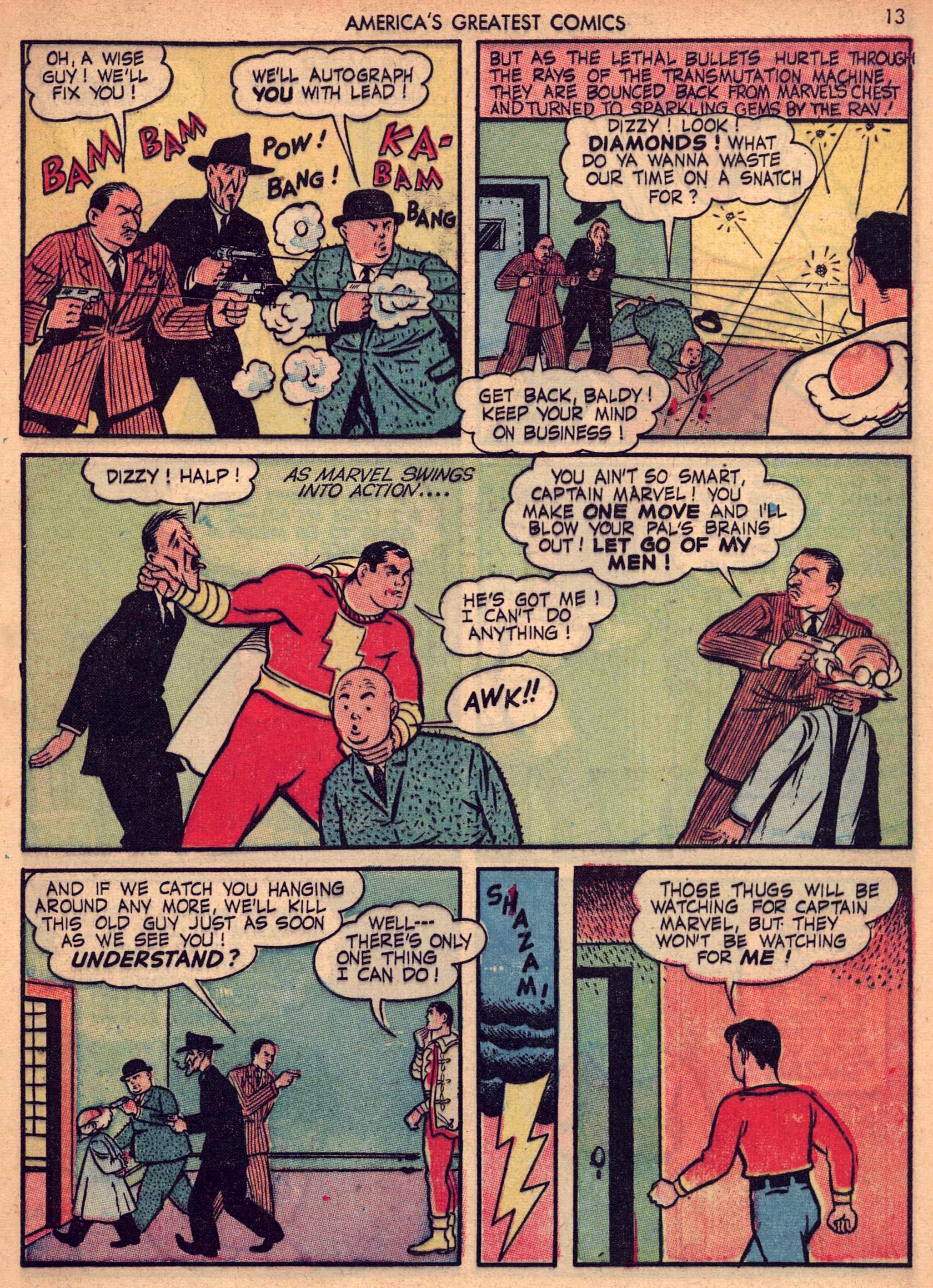 Read online America's Greatest Comics comic -  Issue #7 - 12