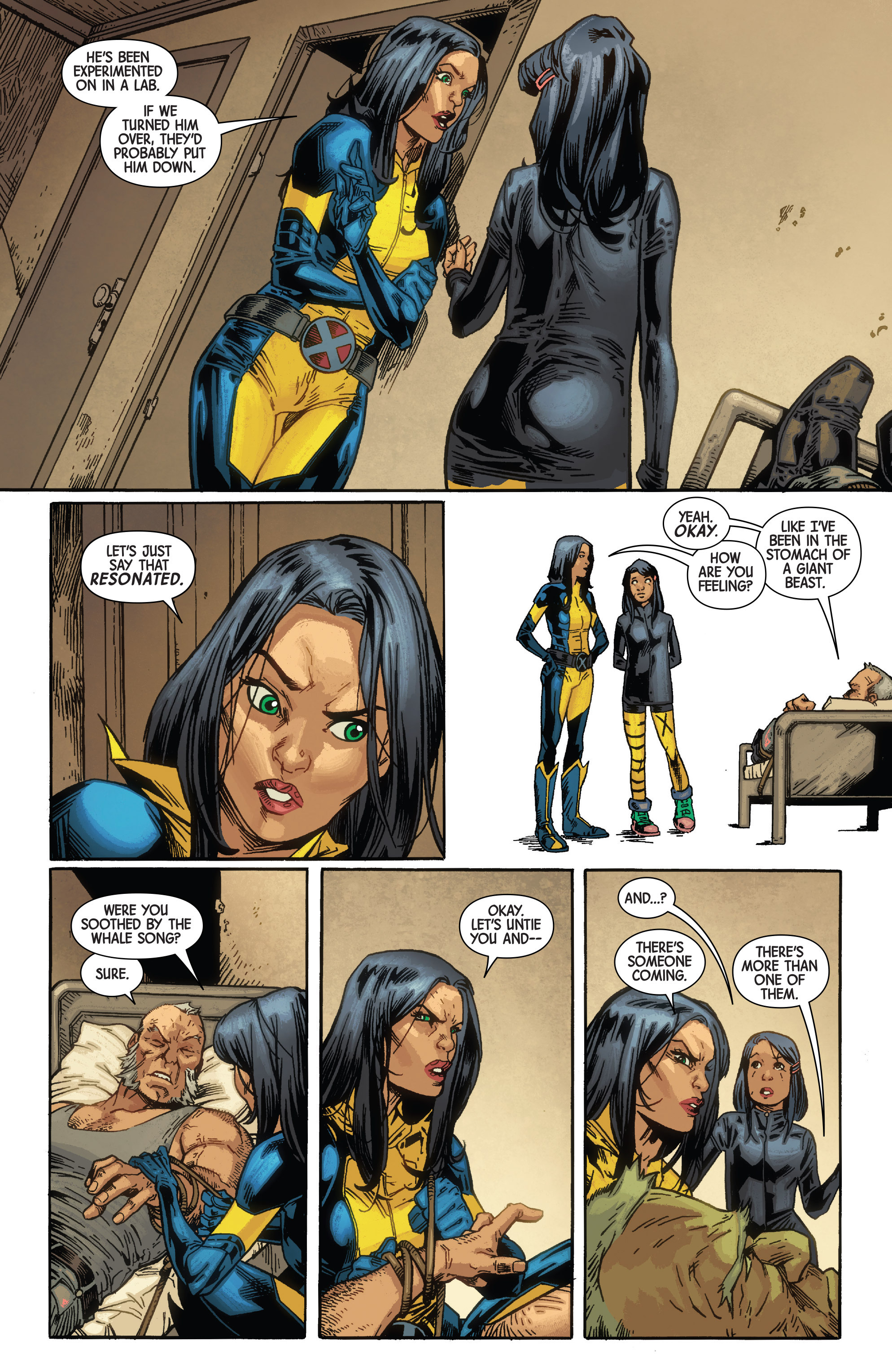 Read online All-New Wolverine (2016) comic -  Issue #10 - 10