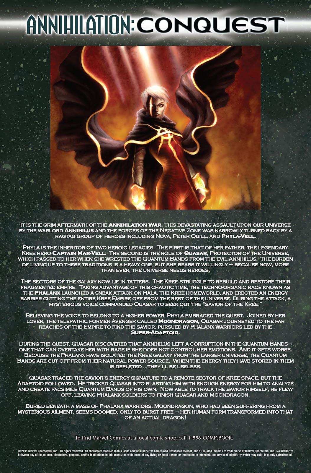 Annihilation: Conquest - Quasar issue 3 - Page 2