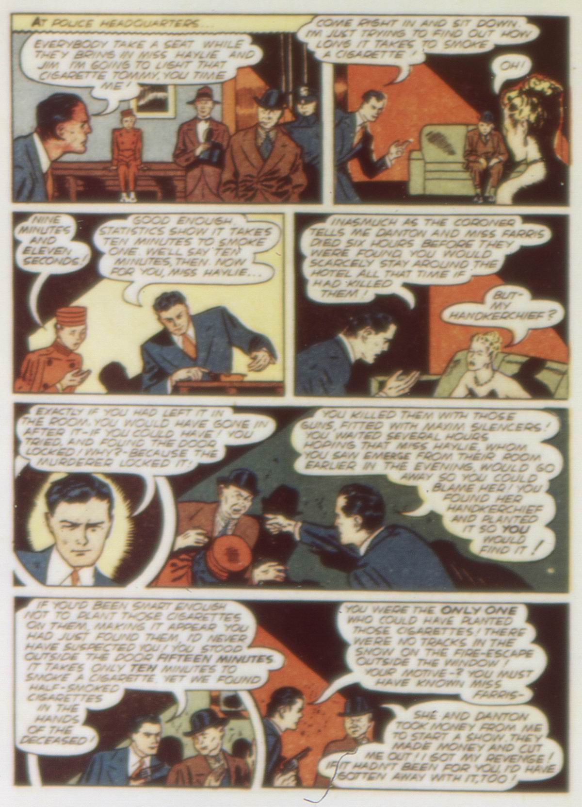Read online Detective Comics (1937) comic -  Issue #58 - 56