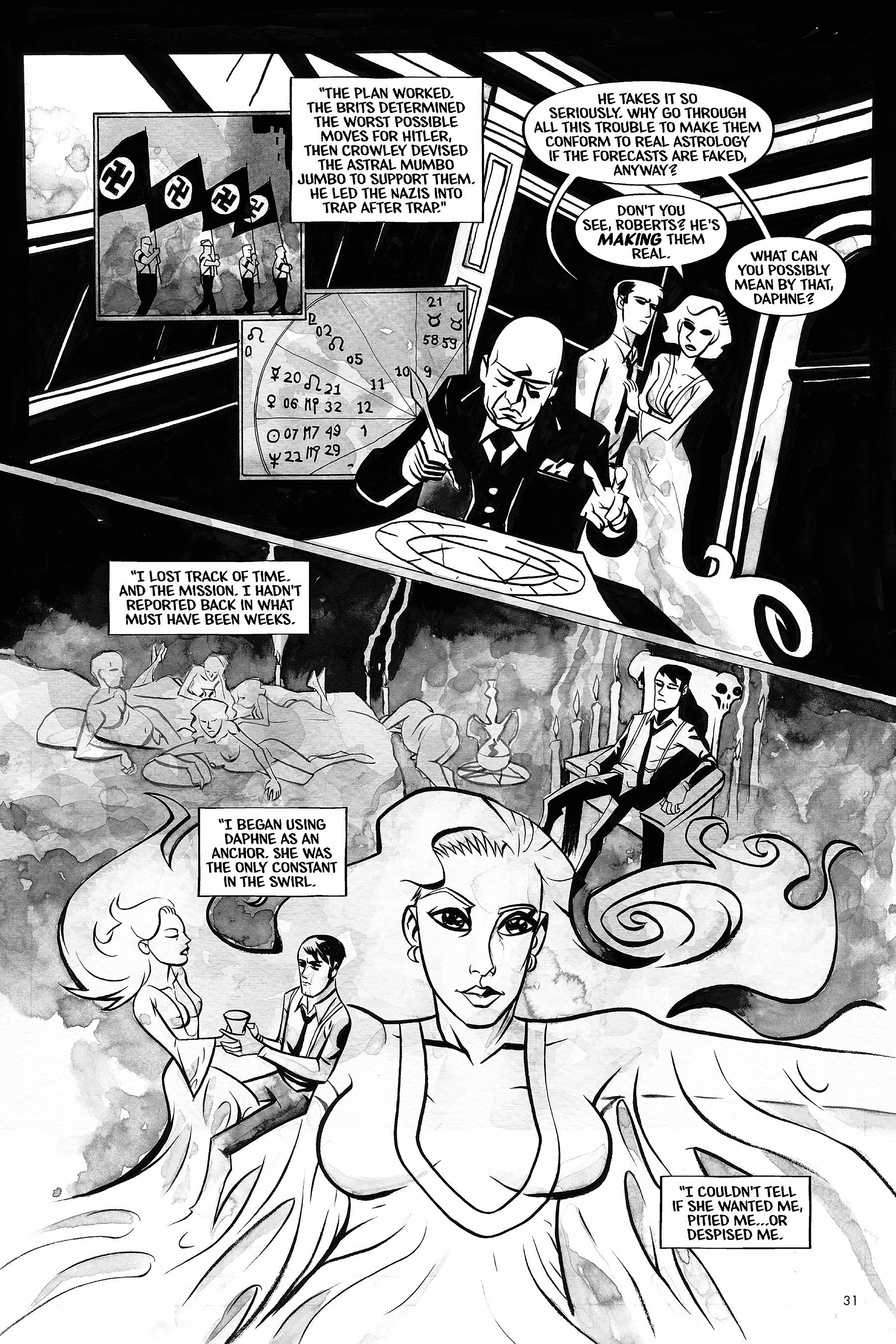 Read online Aleister & Adolf comic -  Issue # TPB - 30
