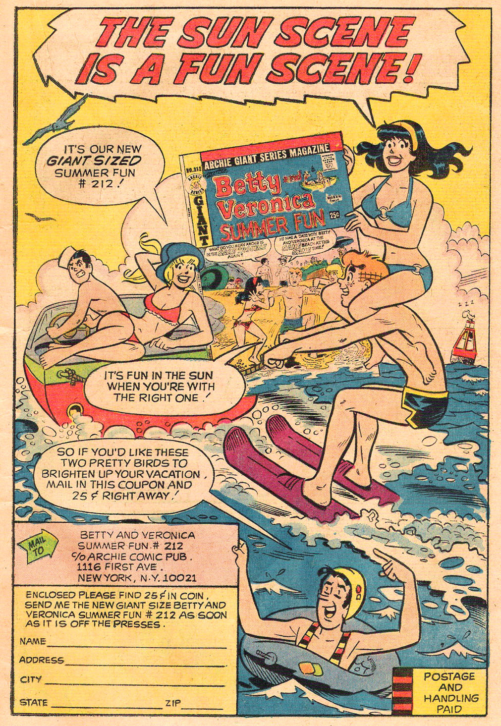 Read online Archie's Girls Betty and Veronica comic -  Issue #212 - 19