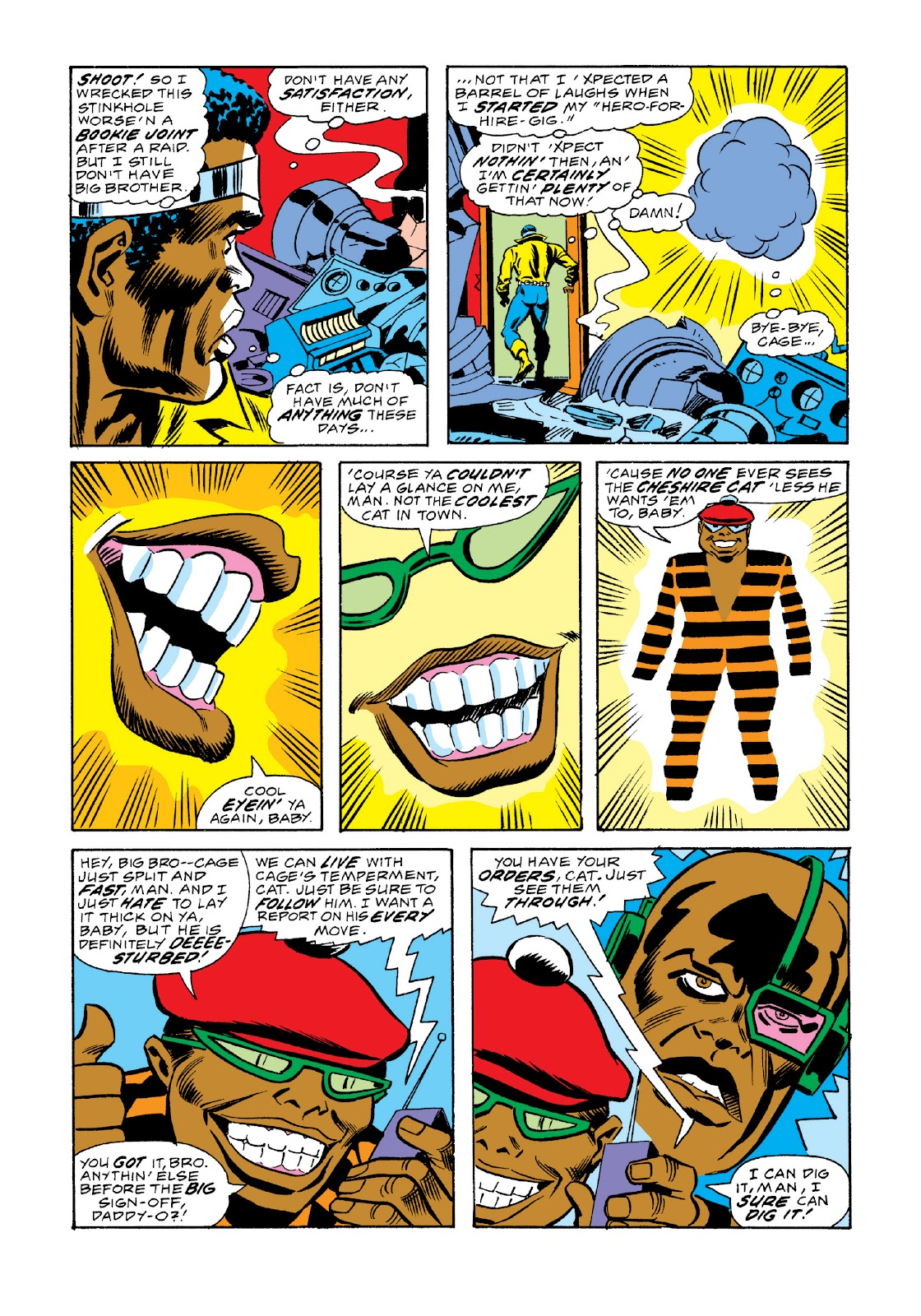 Read online Marvel Masterworks: Luke Cage, Power Man comic -  Issue # TPB 3 (Part 2) - 76
