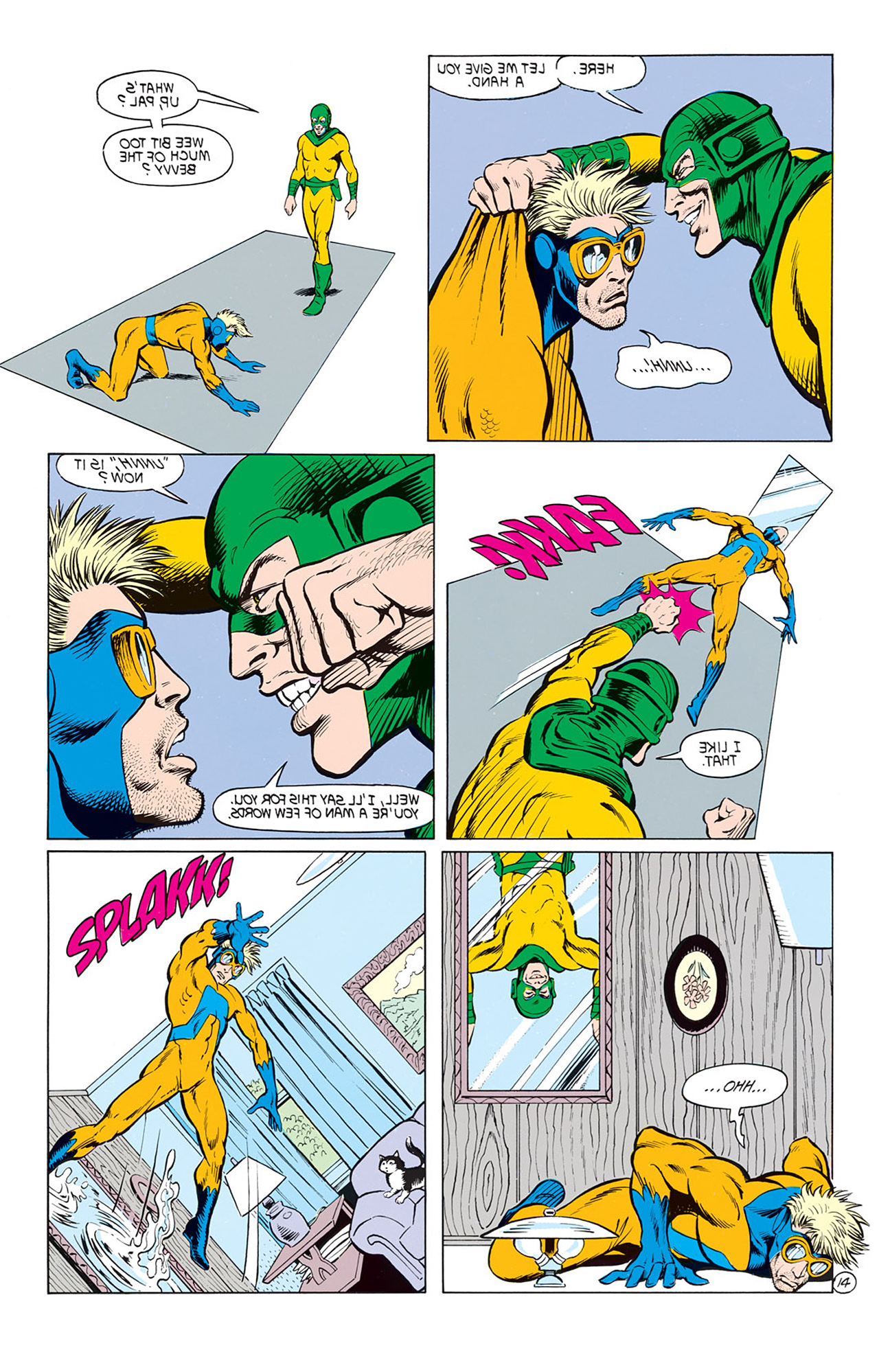 Read online Animal Man (1988) comic -  Issue #8 - 16