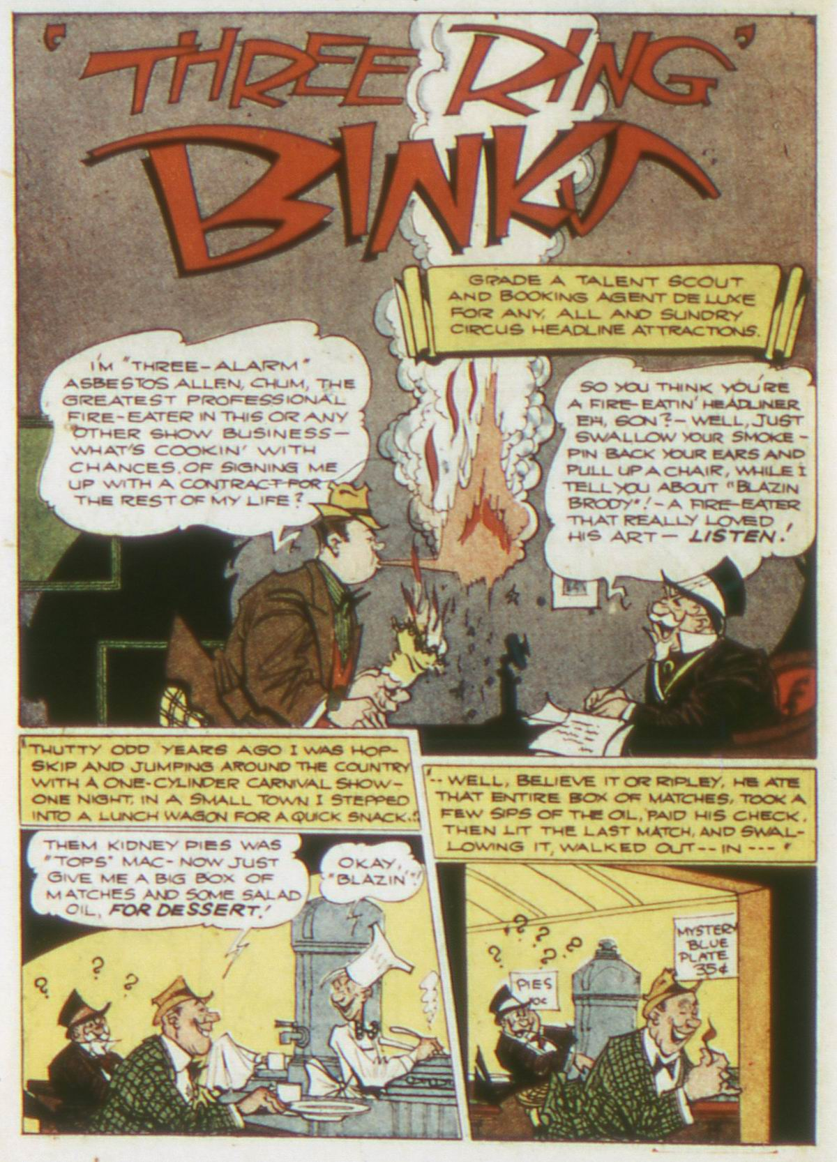 Read online Detective Comics (1937) comic -  Issue #87 - 24