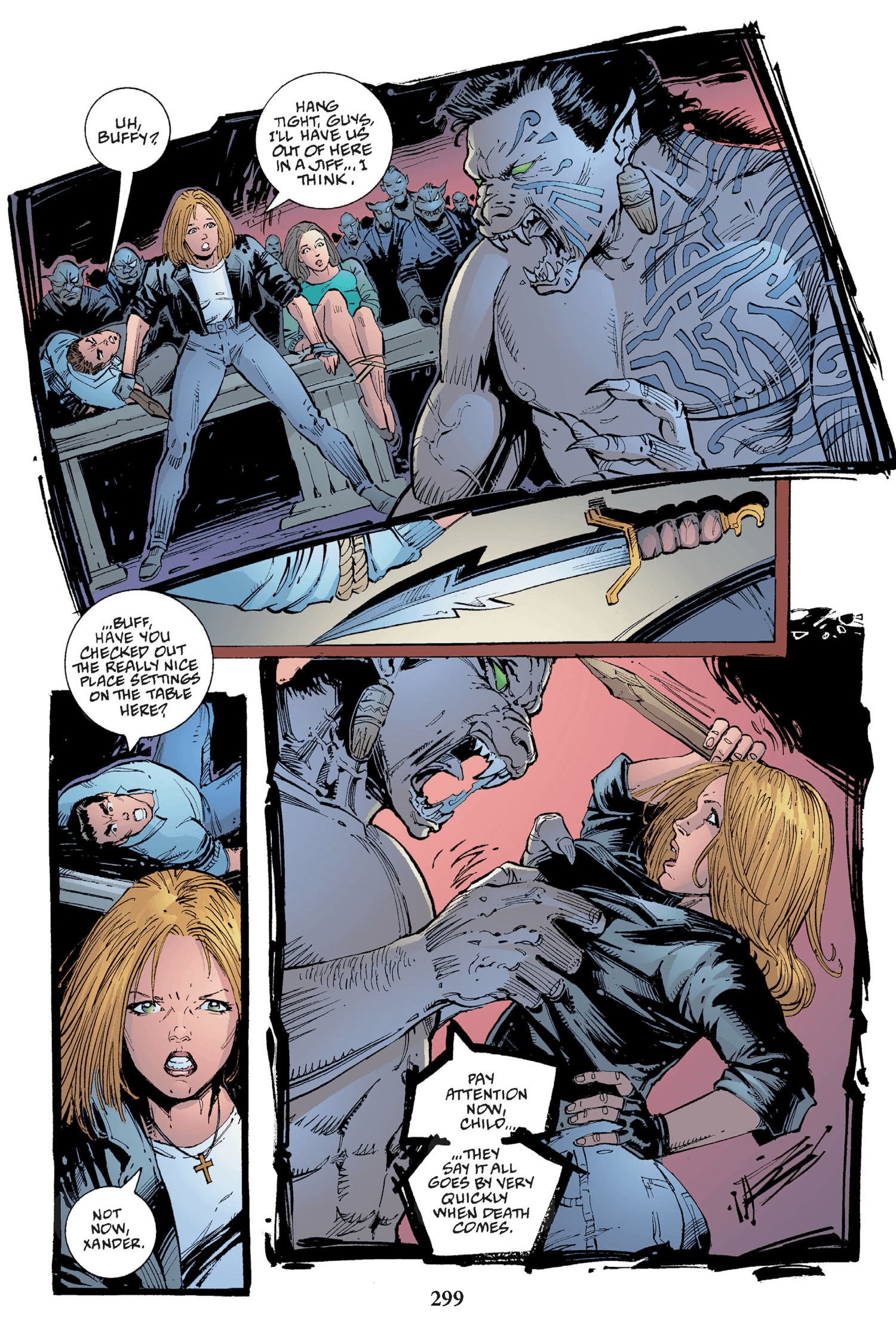Read online Buffy the Vampire Slayer: Omnibus comic -  Issue # TPB 2 - 291