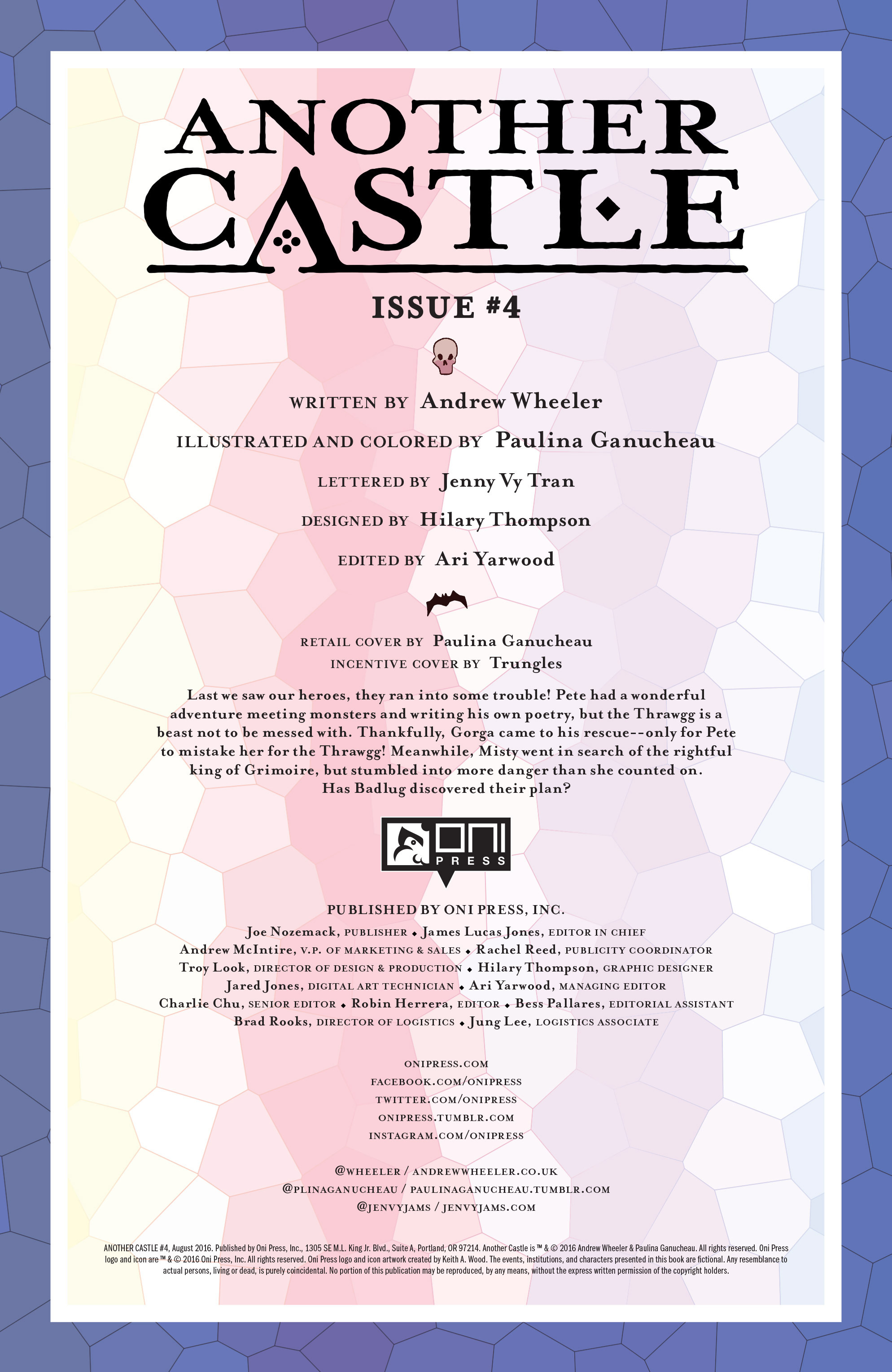 Read online Another Castle comic -  Issue #4 - 2