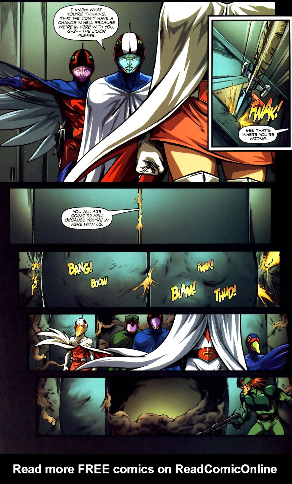 Battle of the Planets Issue #12 #14 - English 26