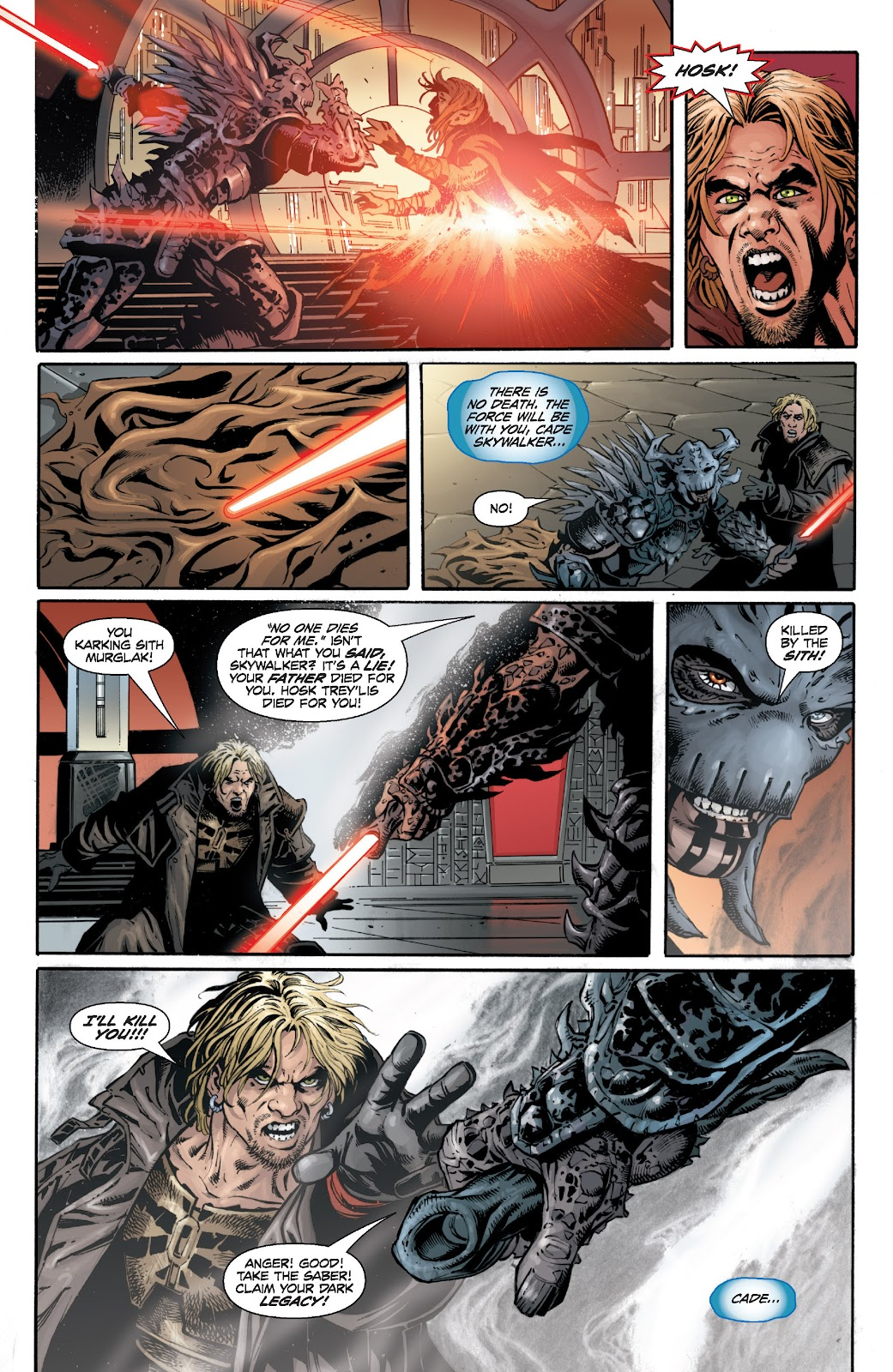 Read online Star Wars Legends: Legacy - Epic Collection comic -  Issue # TPB 1 (Part 5) - 33