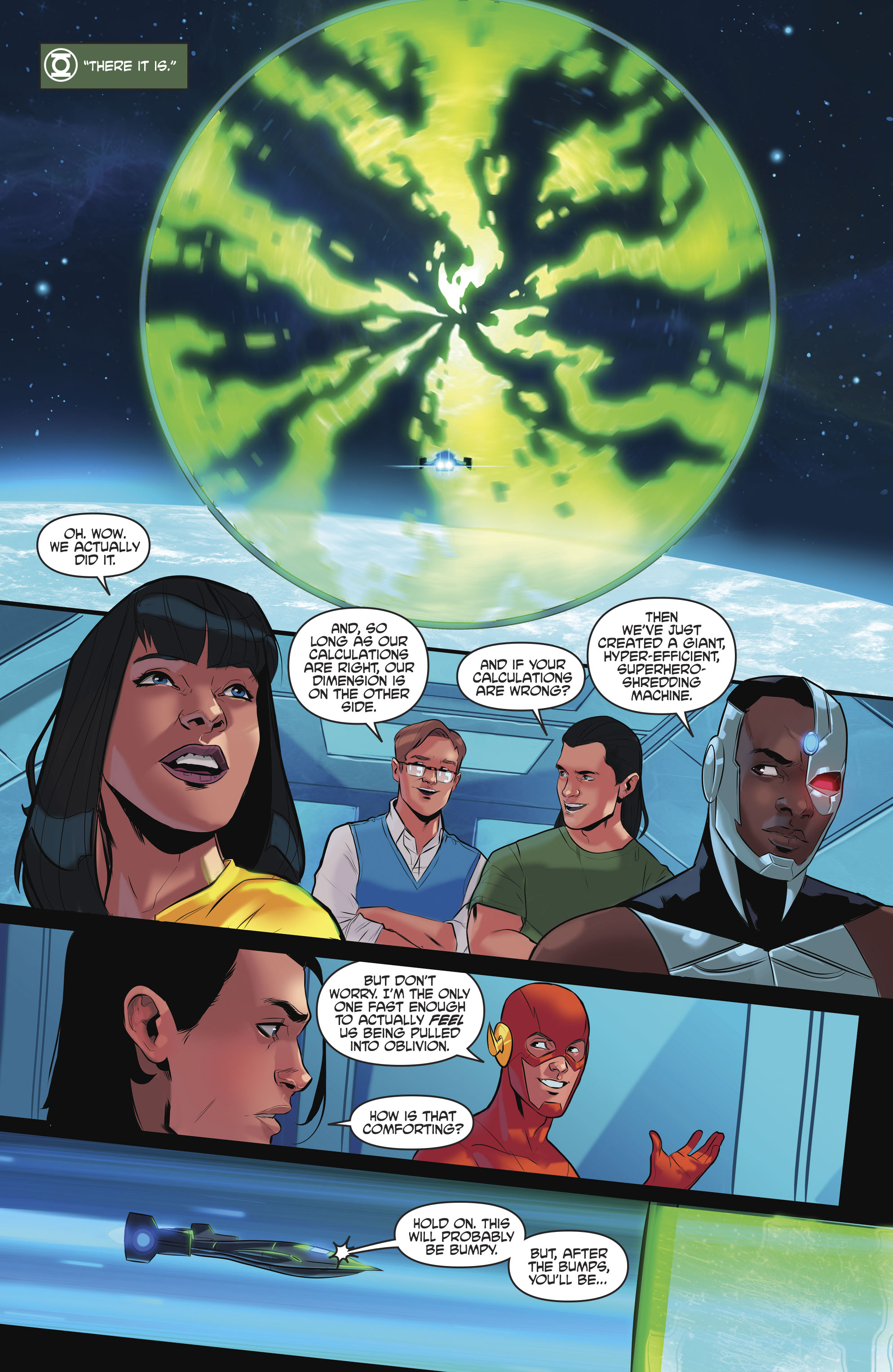 Read online Justice League/Mighty Morphin' Power Rangers comic -  Issue #4 - 9