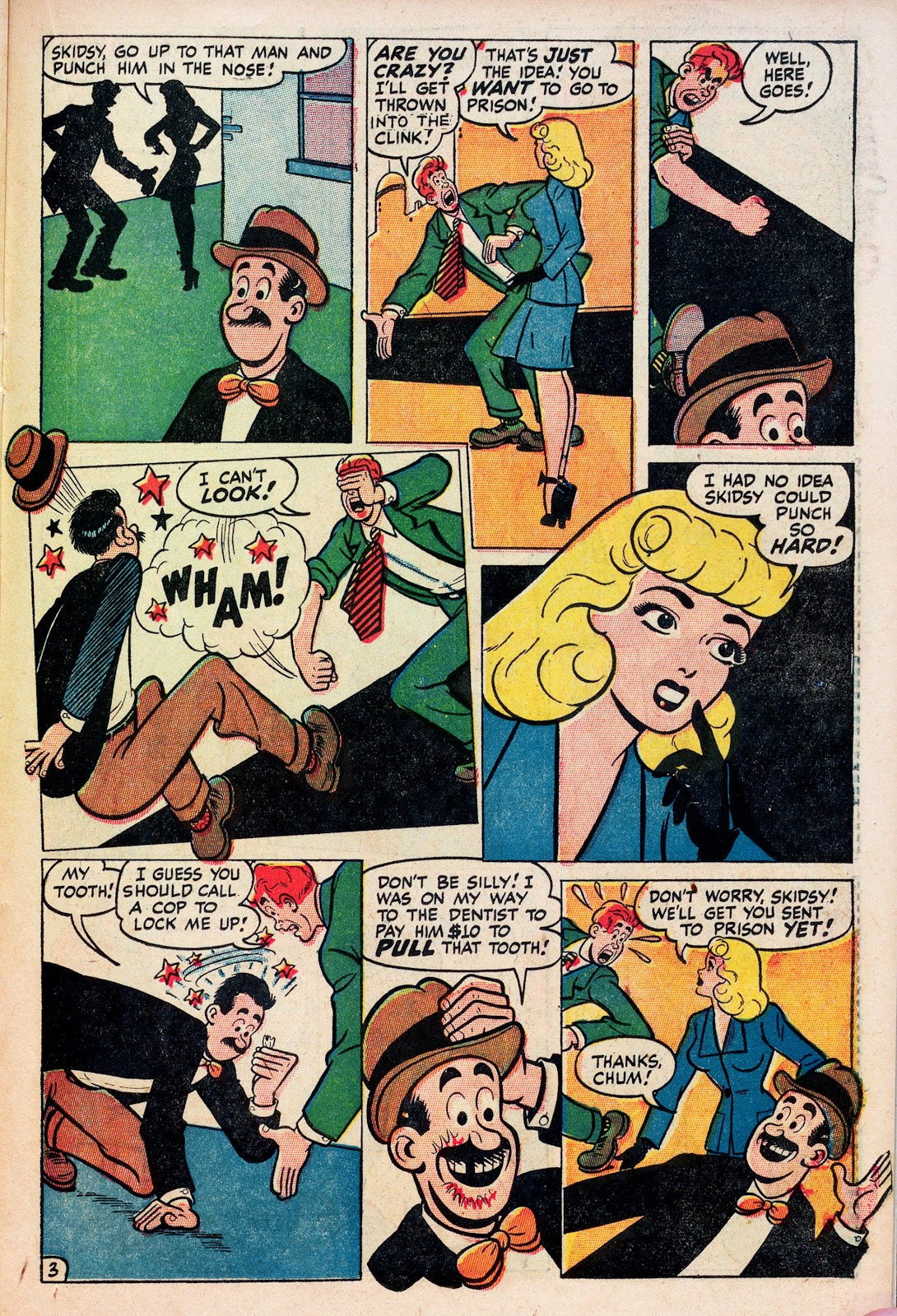 Read online Comedy Comics (1948) comic -  Issue #1 - 21