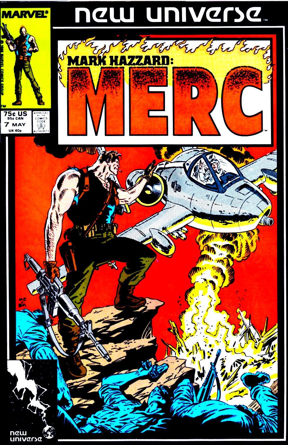 Mark Hazzard: Merc issue 7 - Page 1