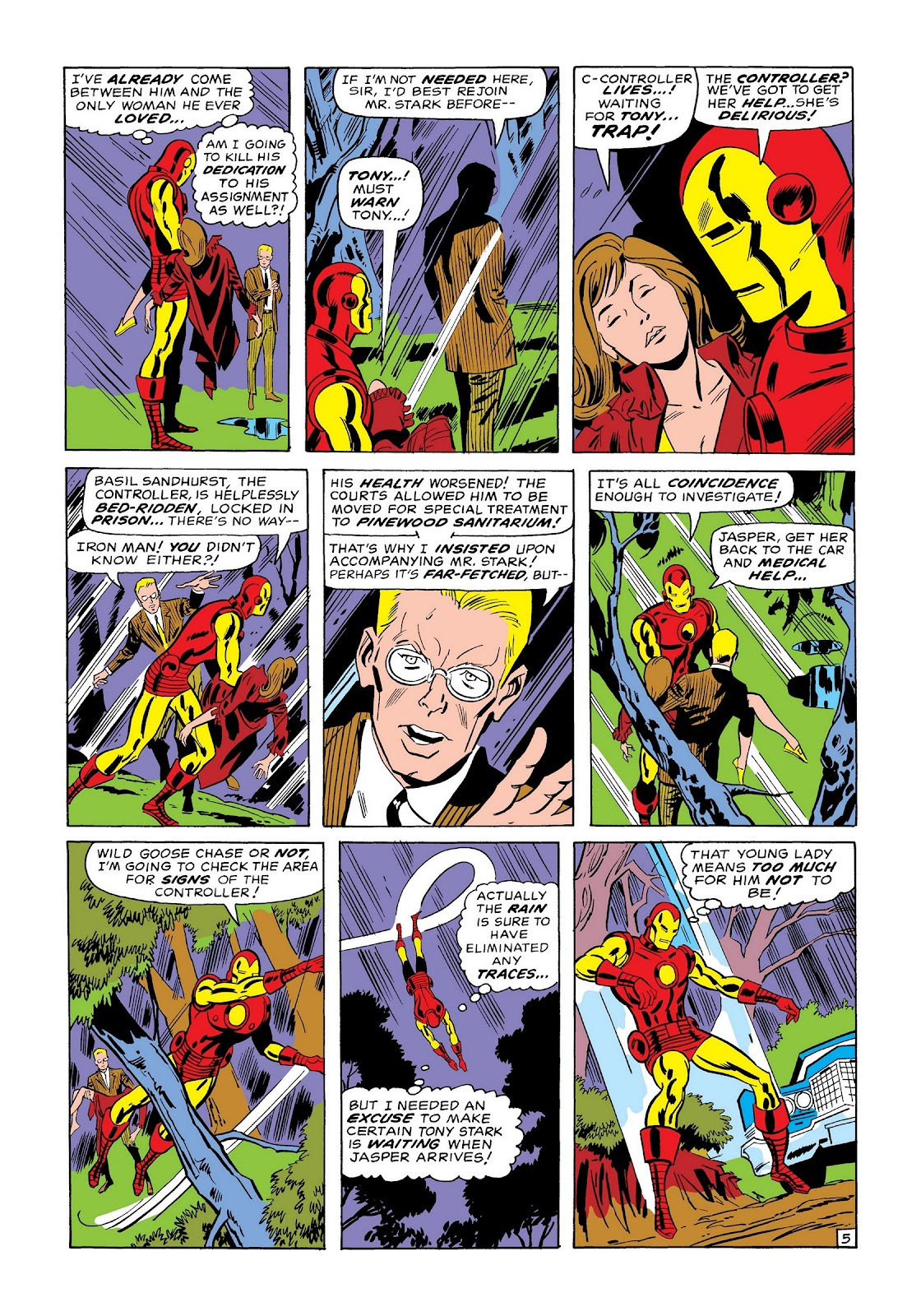 Read online Marvel Masterworks: The Invincible Iron Man comic -  Issue # TPB 7 (Part 1) - 54