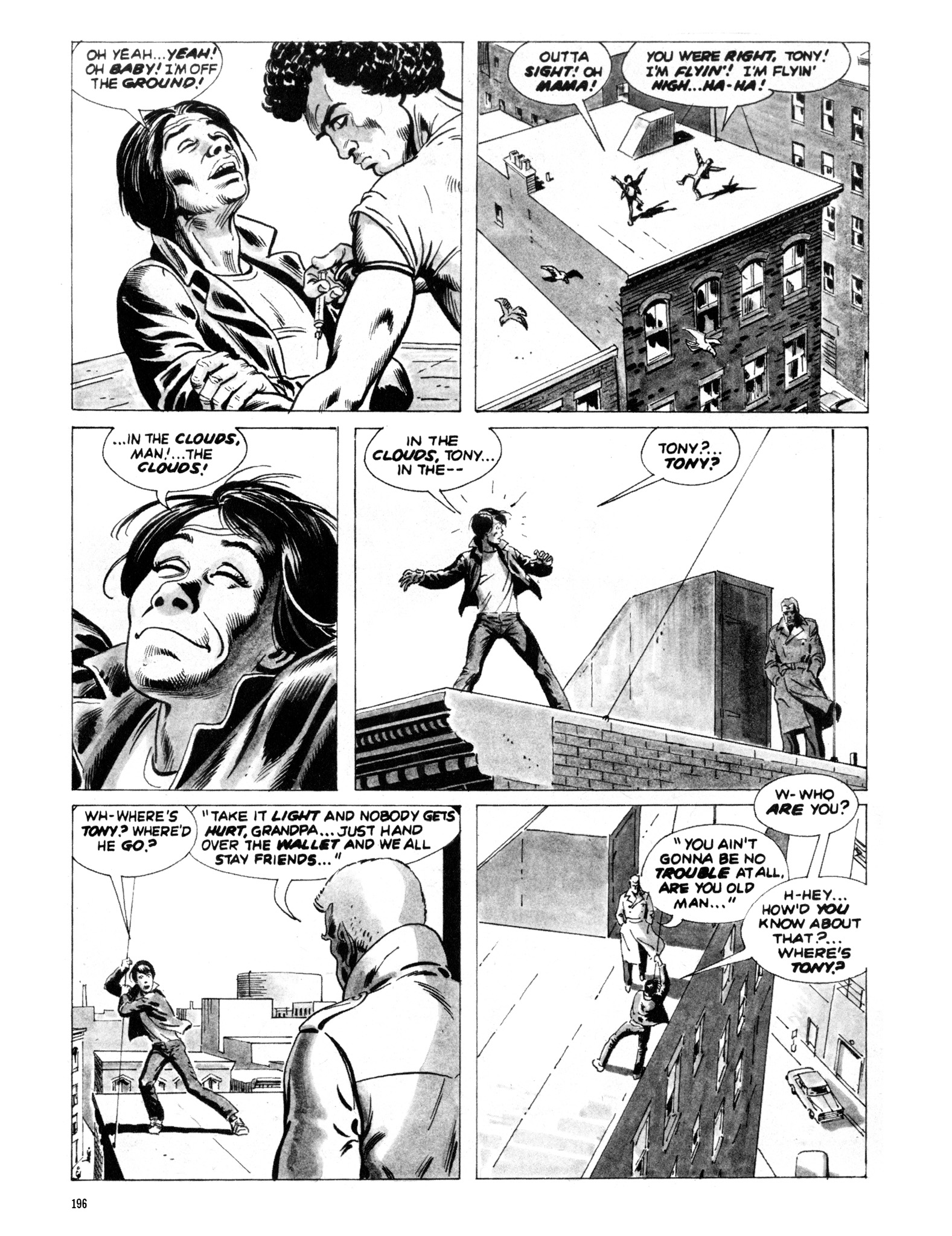 Read online Eerie Archives comic -  Issue # TPB 20 - 196