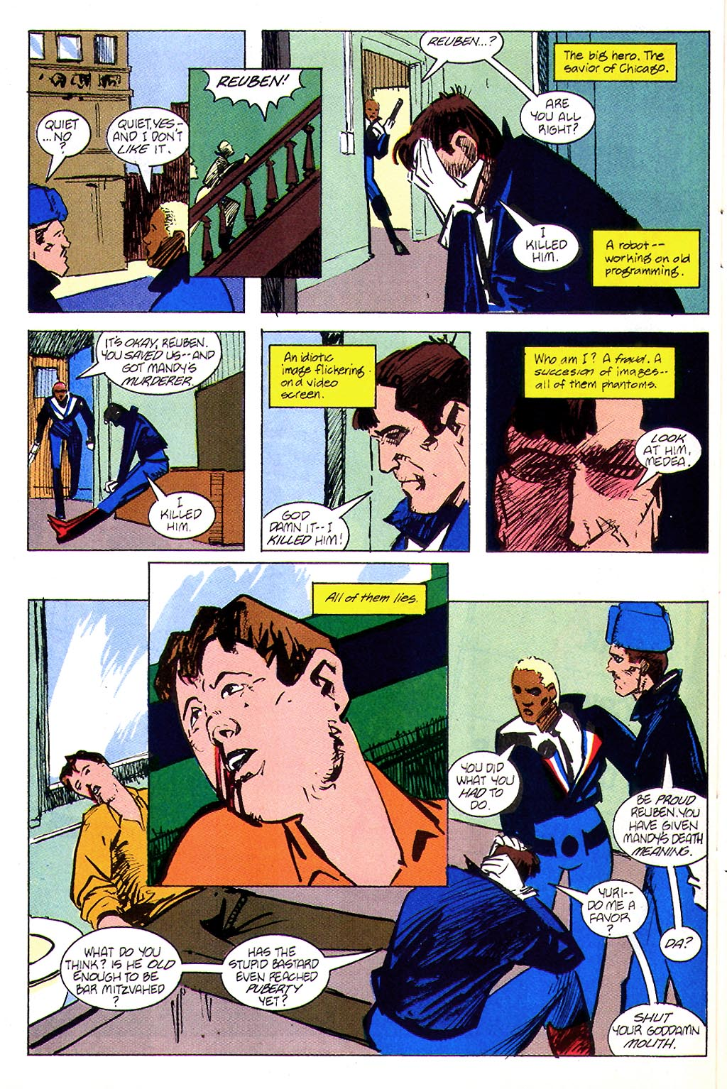 Read online American Flagg! comic -  Issue #45 - 24