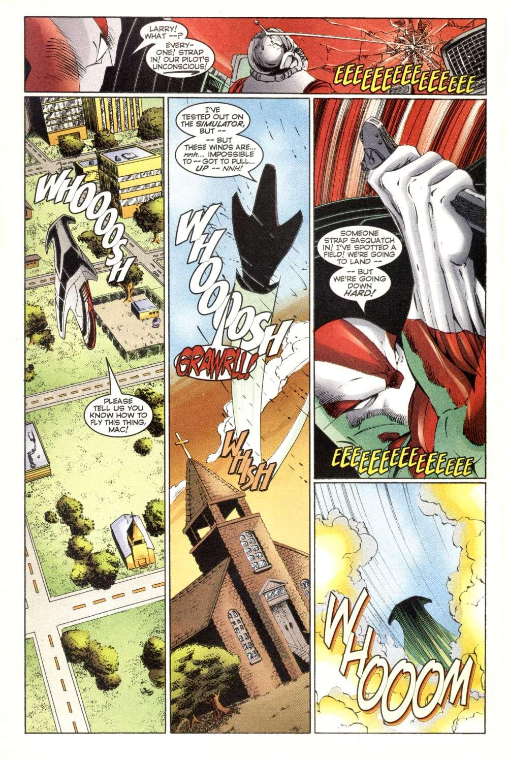 Read online Alpha Flight (1997) comic -  Issue #3 - 10