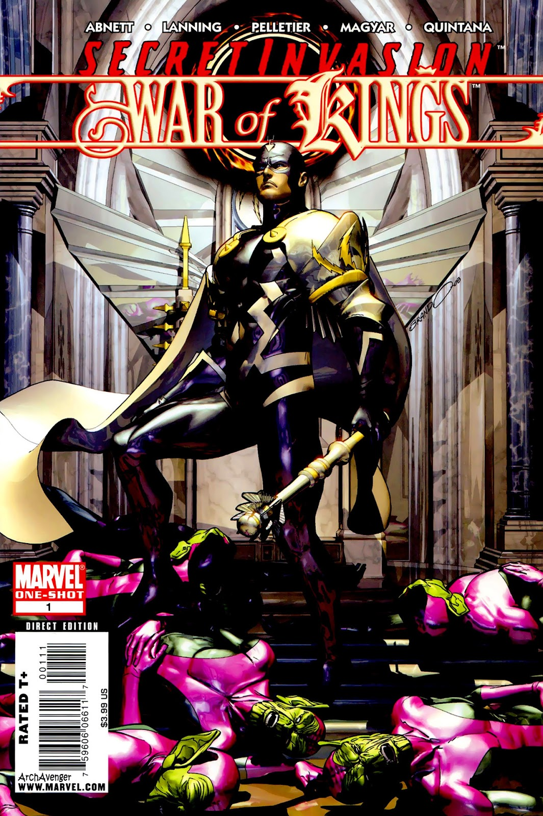 Secret Invasion: War of Kings issue Full - Page 1