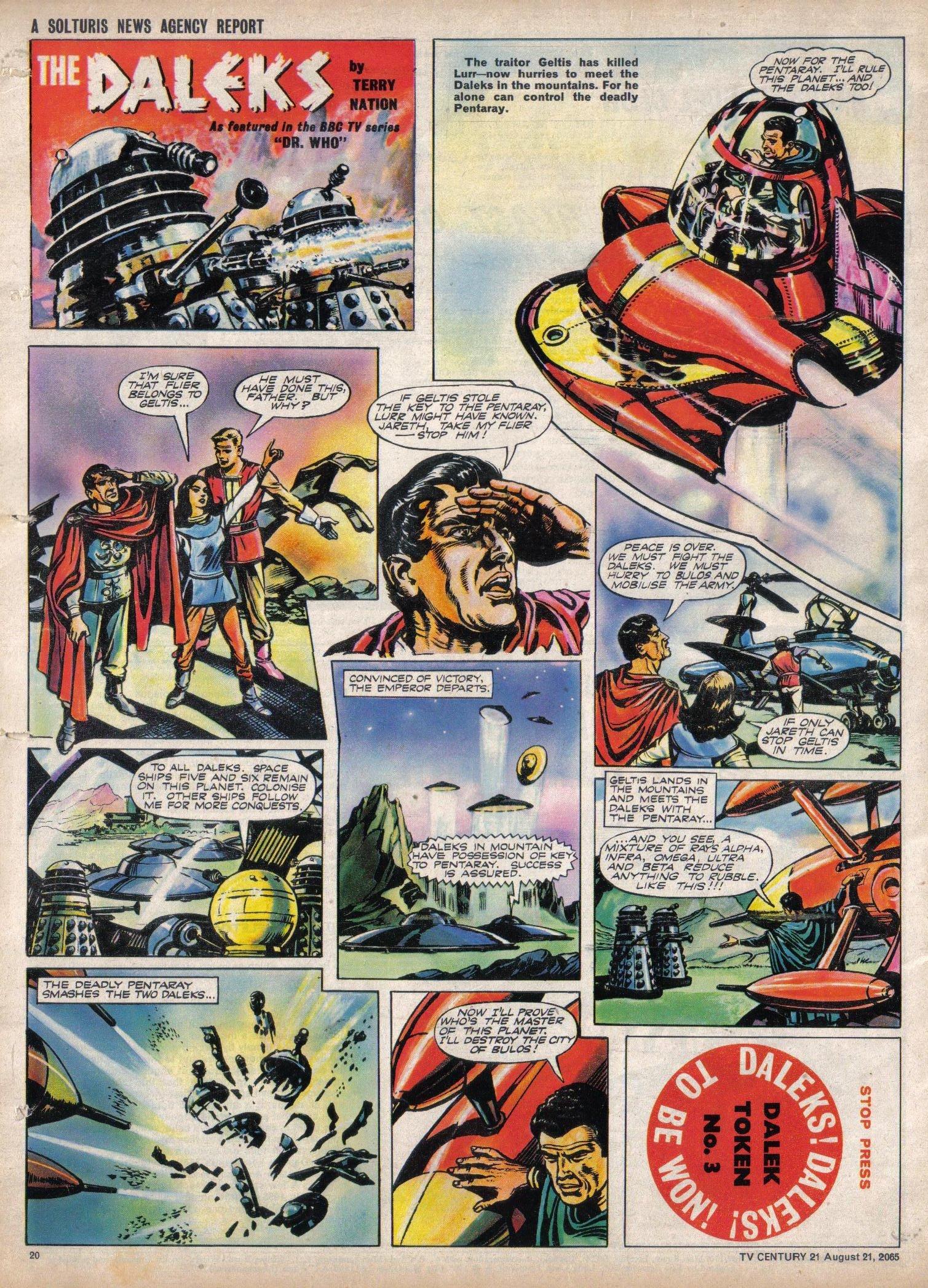 Read online TV Century 21 (TV 21) comic -  Issue #31 - 19