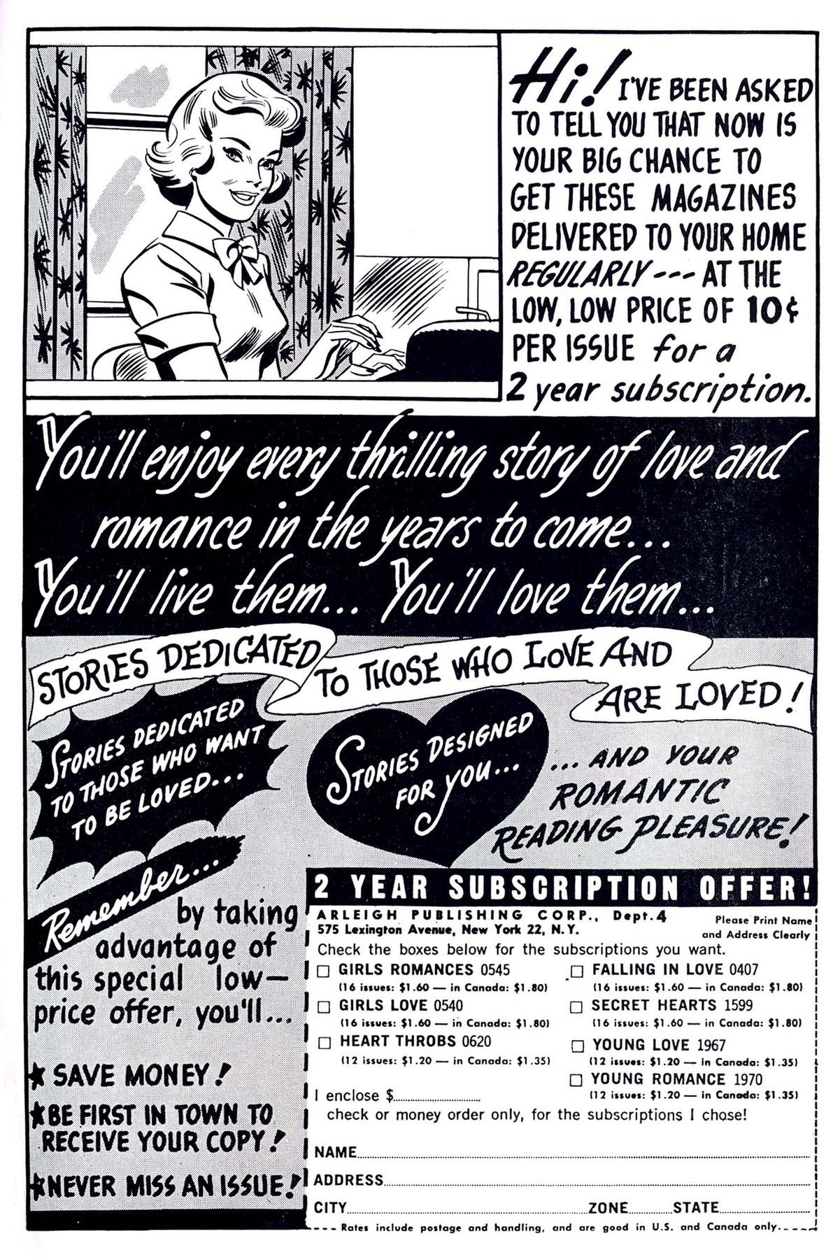 Read online Secret Hearts comic -  Issue #95 - 35