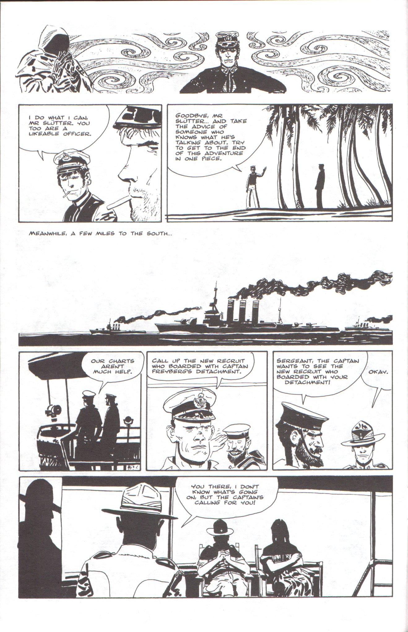 Read online Corto Maltese: Ballad of the Salt Sea comic -  Issue #6 - 12