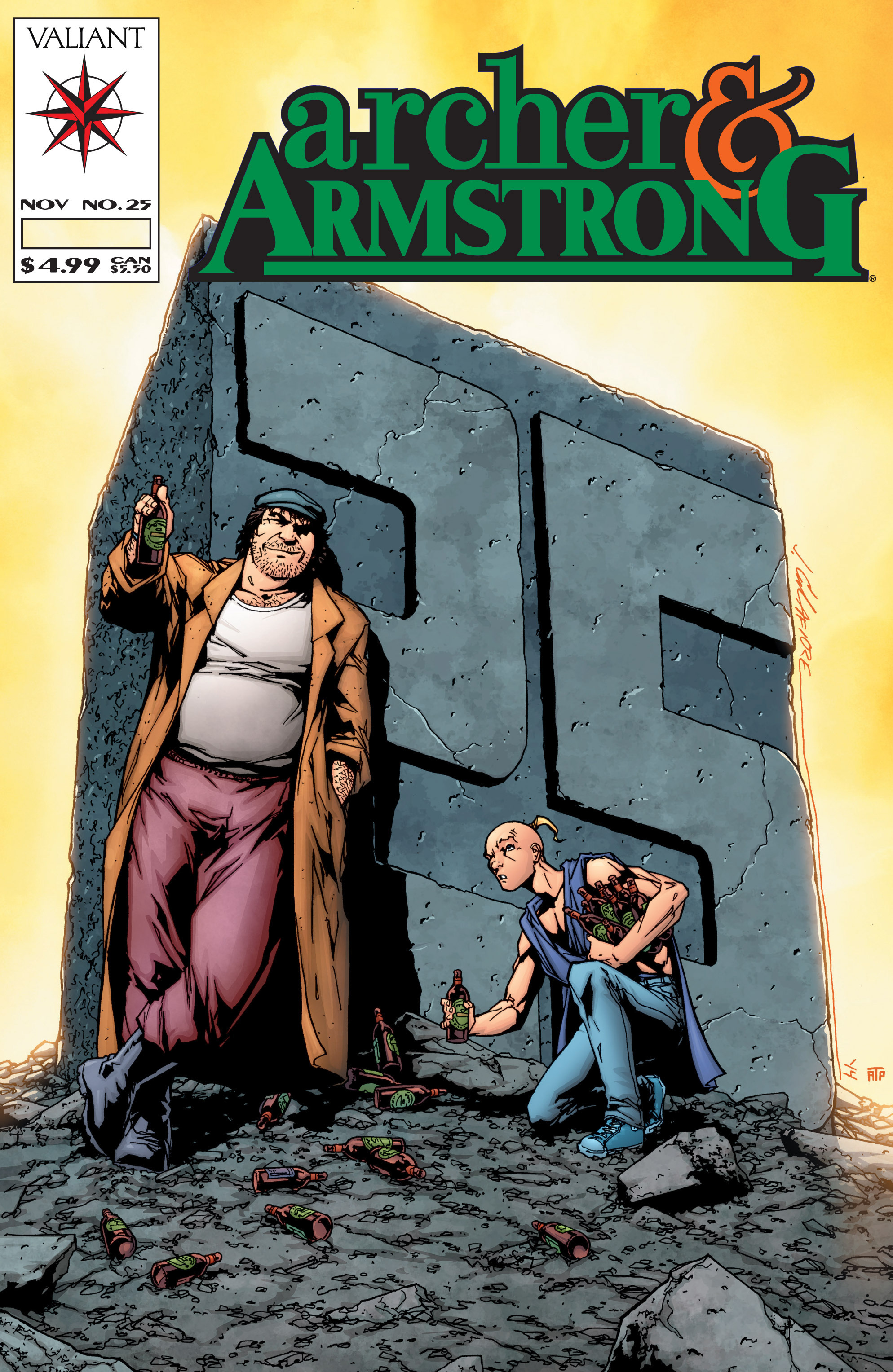 Read online Archer and Armstrong comic -  Issue #Archer and Armstrong _TPB 7 - 101