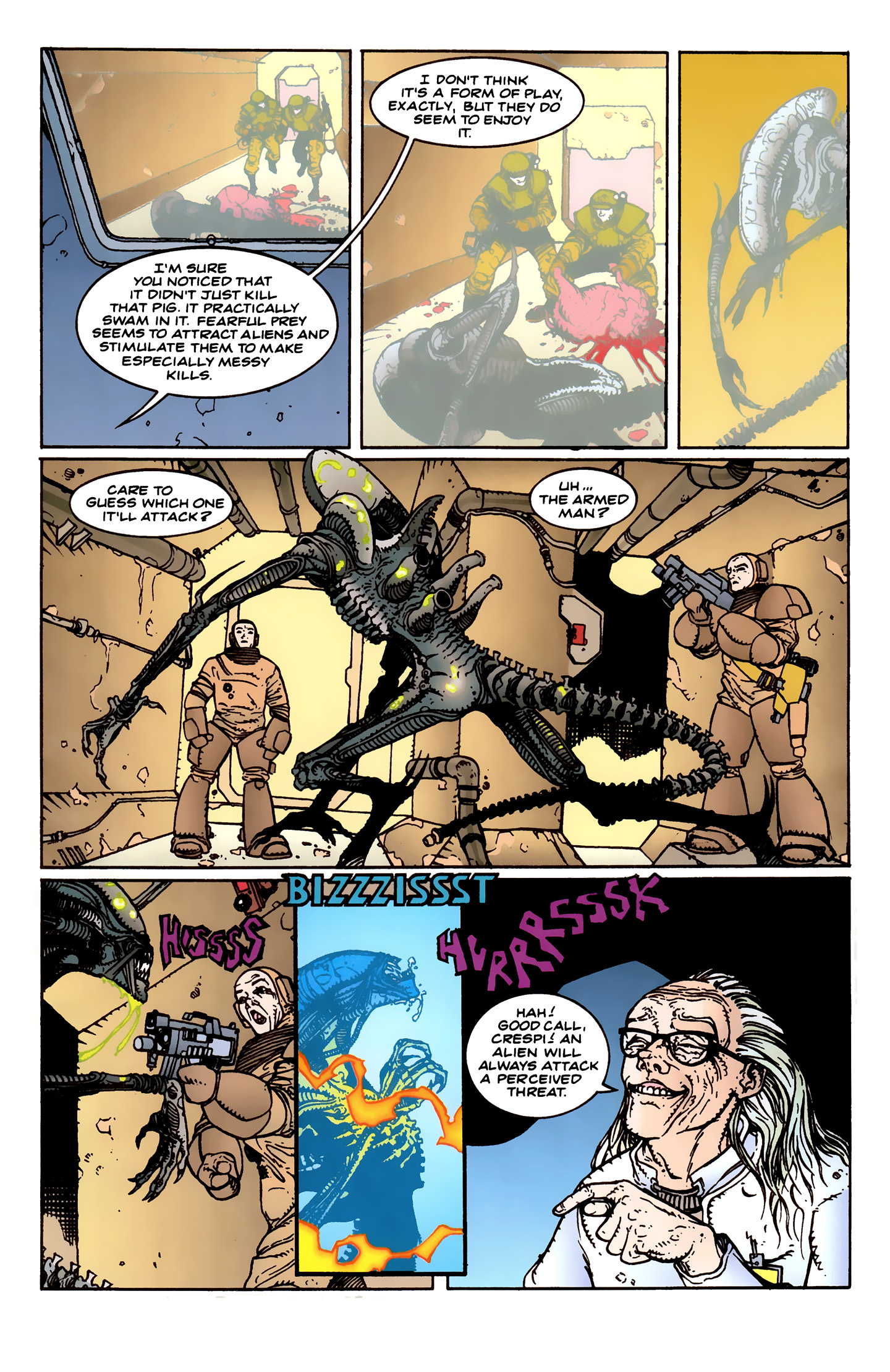 Read online Aliens: Labyrinth comic -  Issue #1 - 18