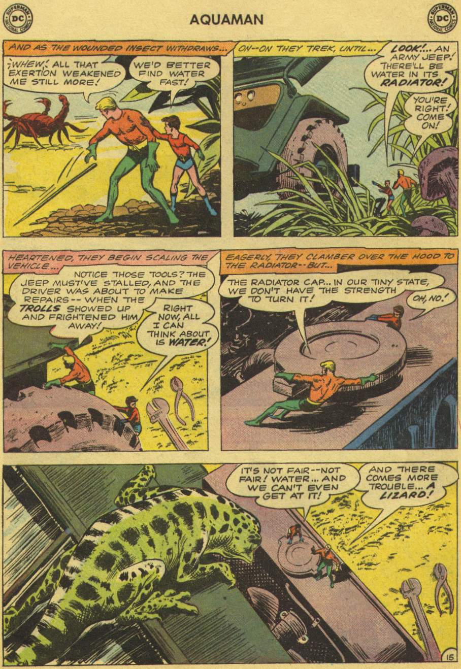 Read online Aquaman (1962) comic -  Issue #1 - 20