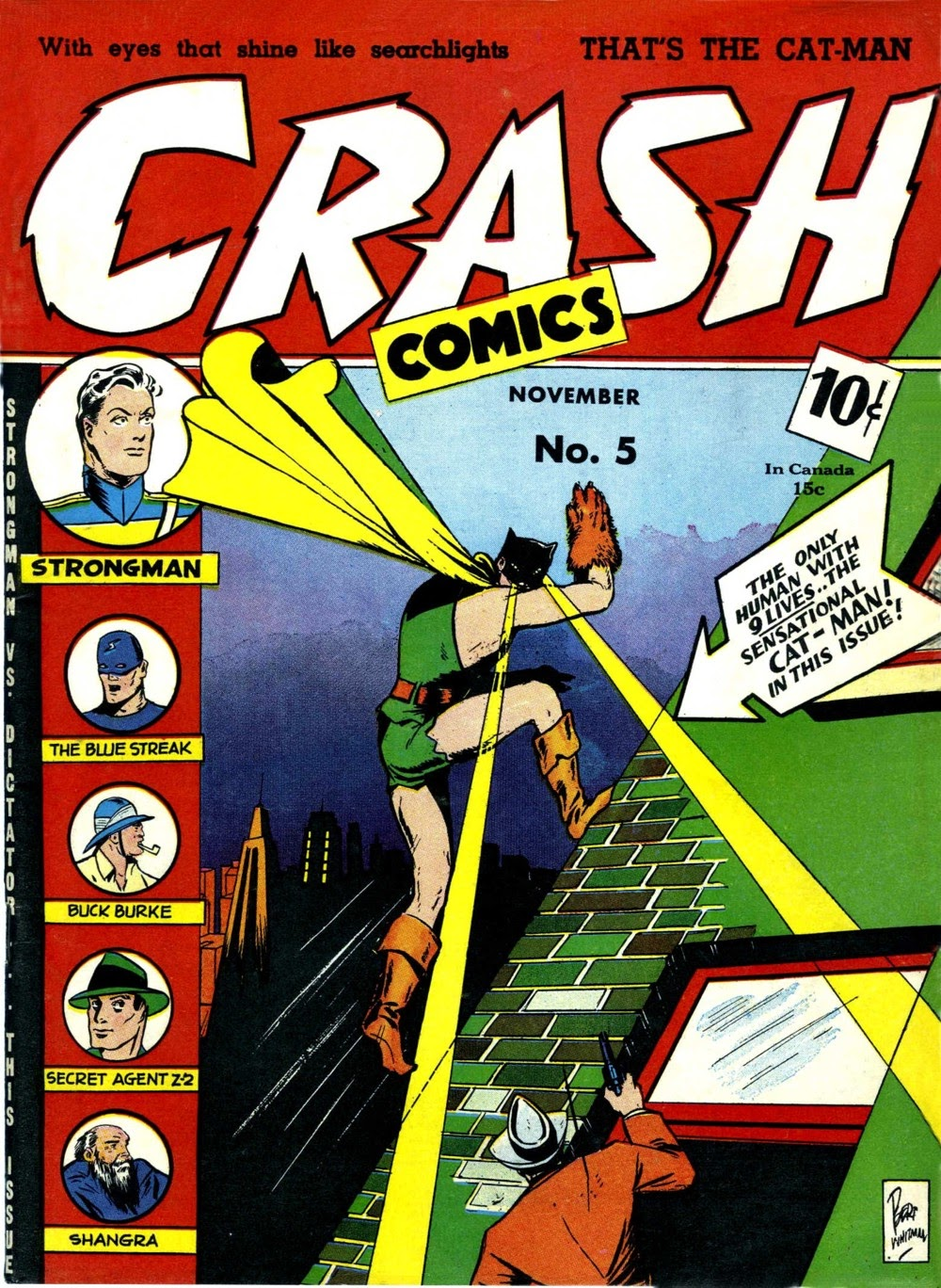 Crash Comics Adventures issue 5 - Page 1