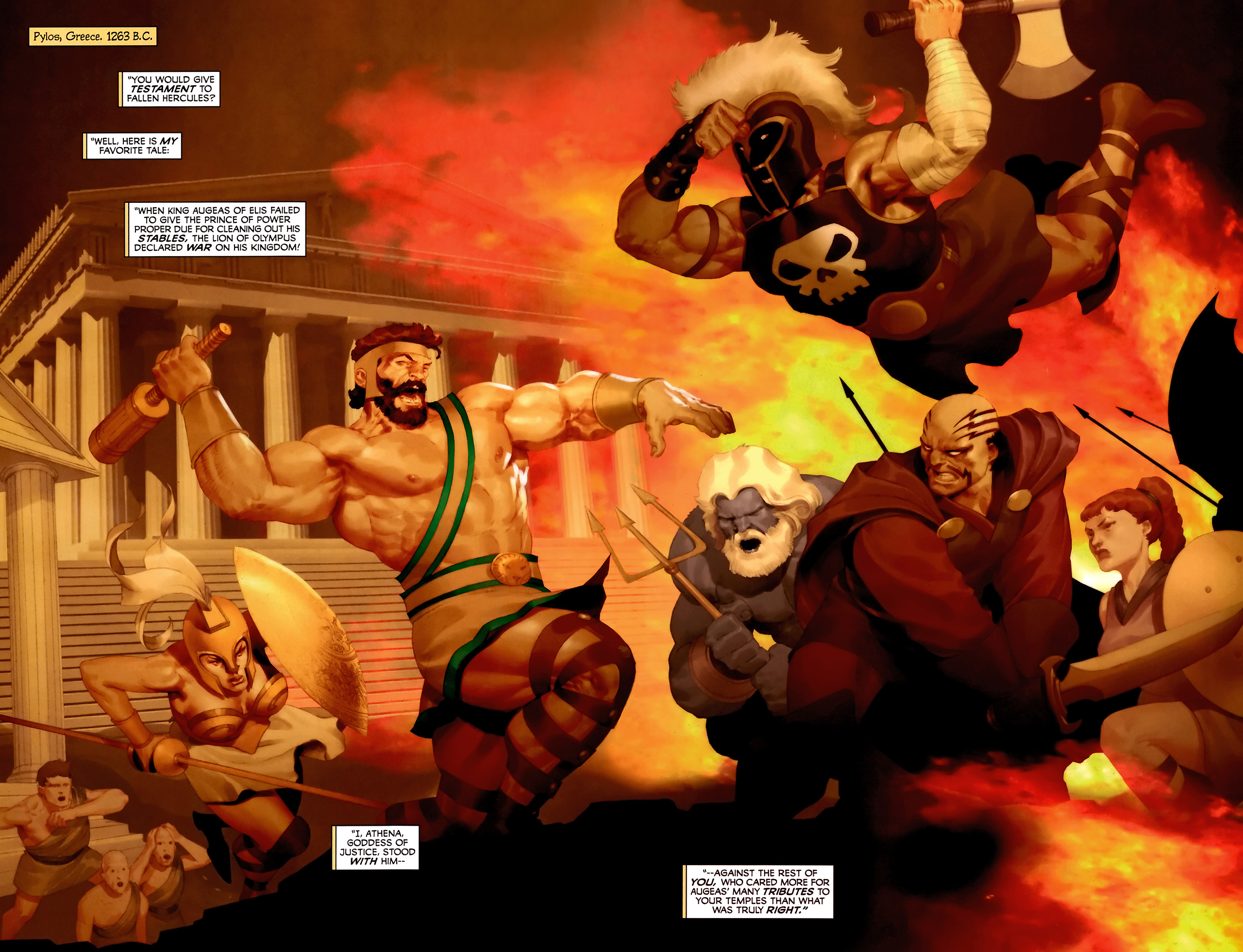 Read online Hercules: Fall of an Avenger comic -  Issue #2 - 3
