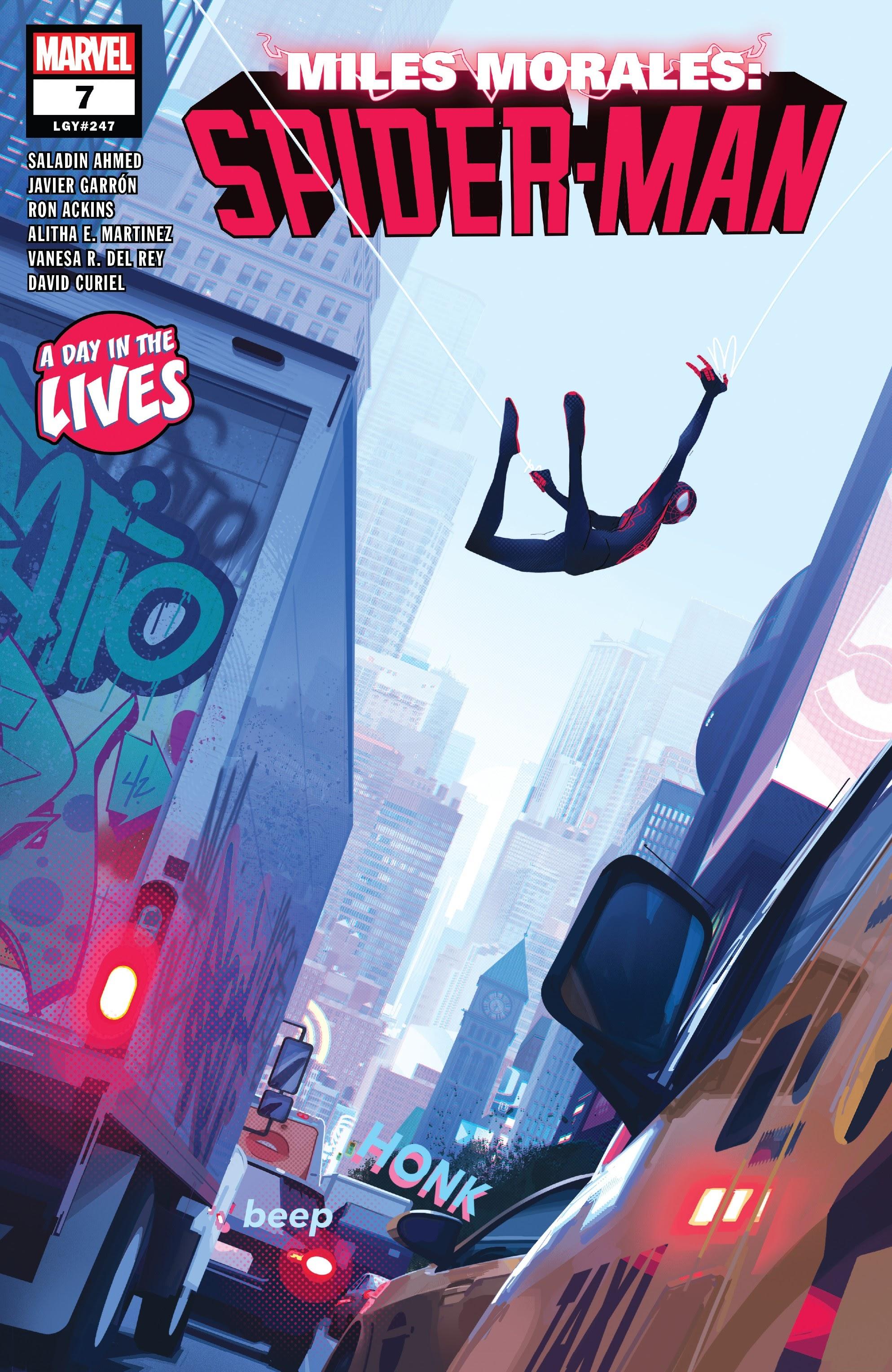Miles Morales: Spider-Man 7 Page 1