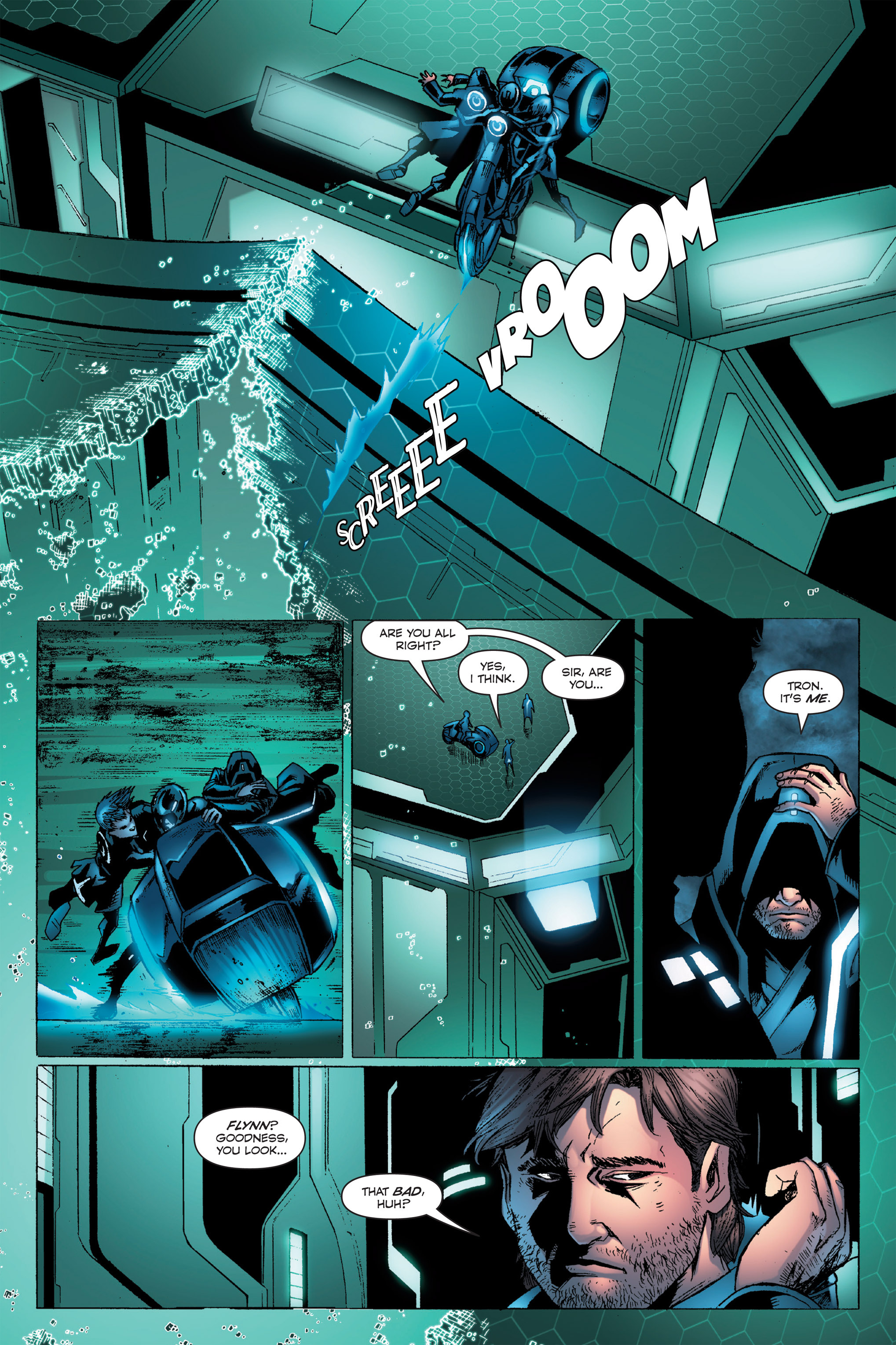 Read online TRON: Betrayal comic -  Issue # TPB - 68
