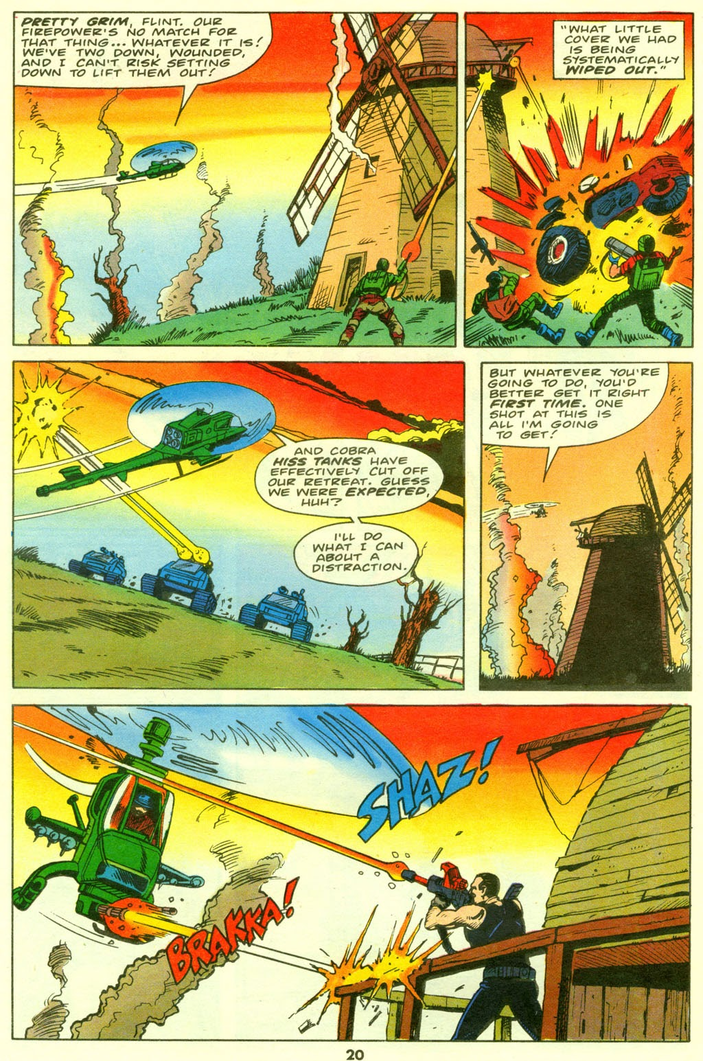 G.I. Joe European Missions issue 9 - Page 21
