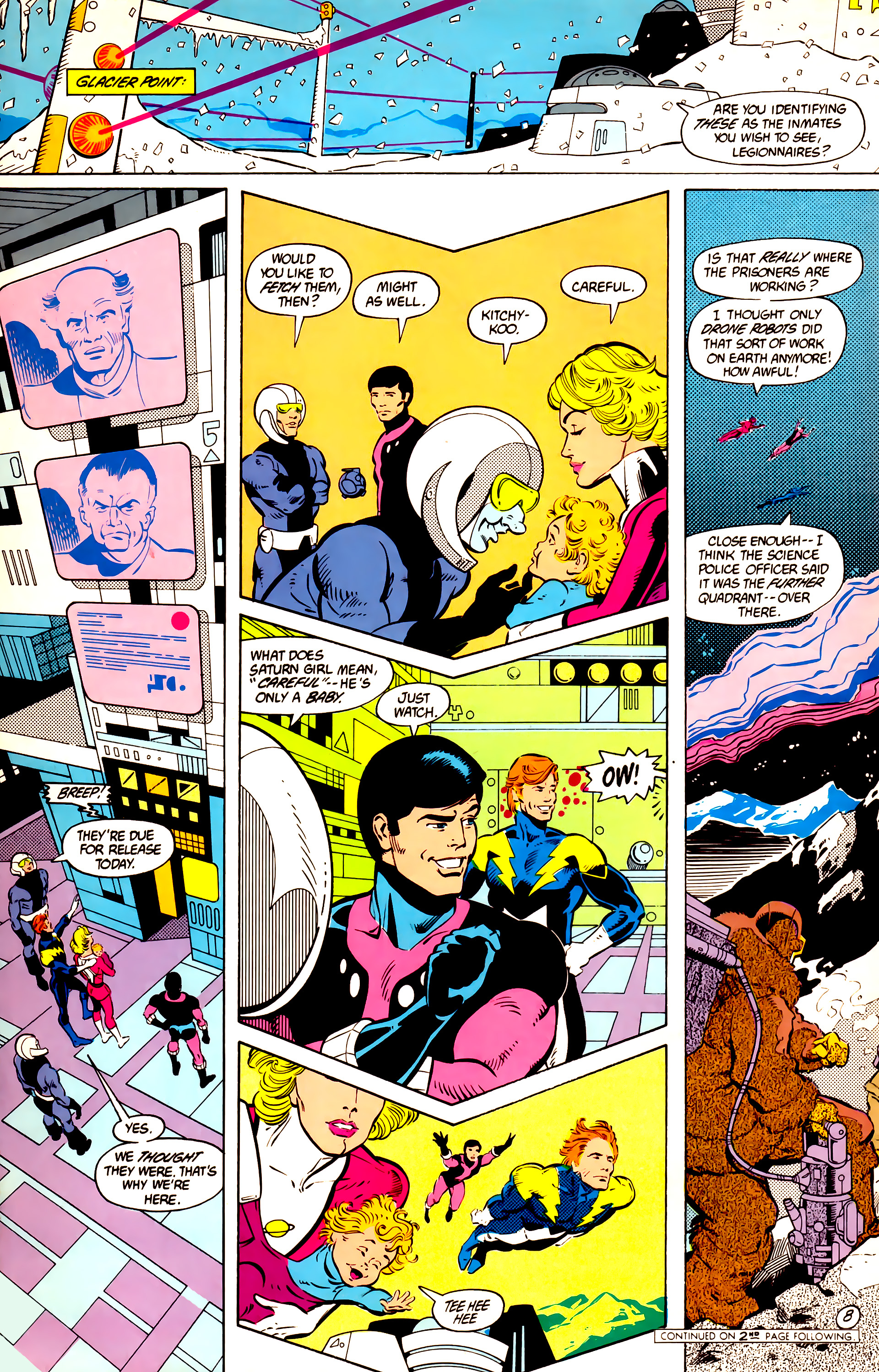 Legion of Super-Heroes (1984) 11 Page 9