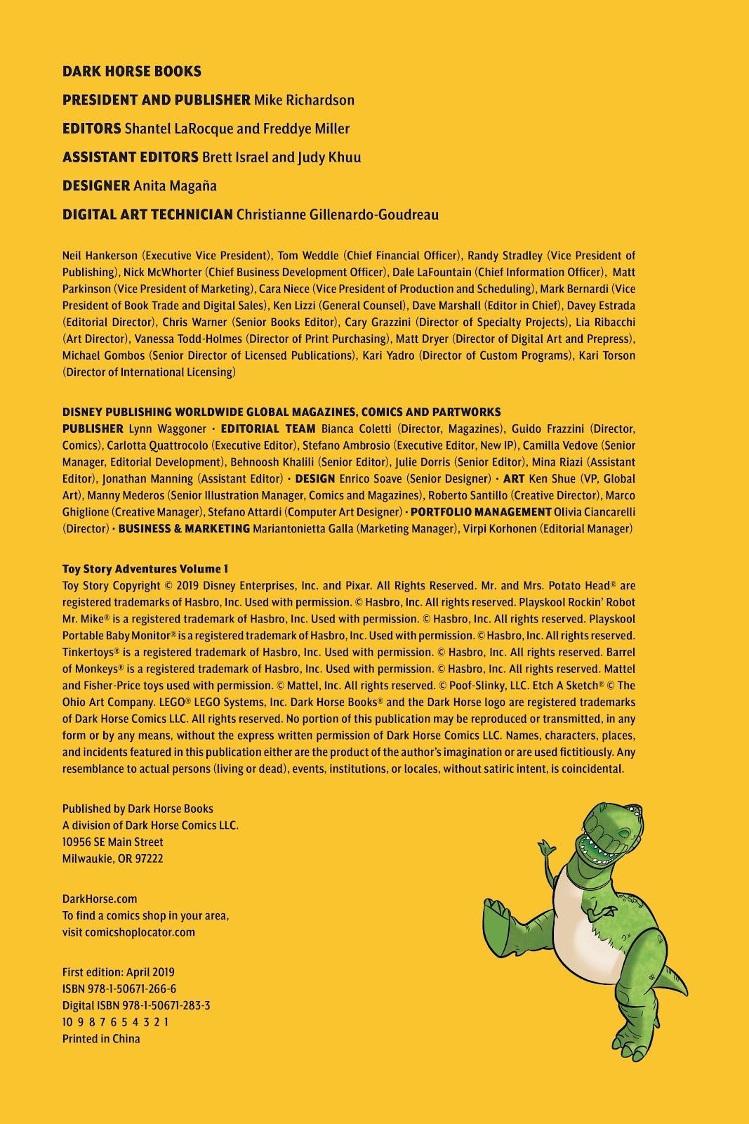 Read online DISNEY·PIXAR Toy Story Adventures comic -  Issue # TPB 1 (Part 1) - 4