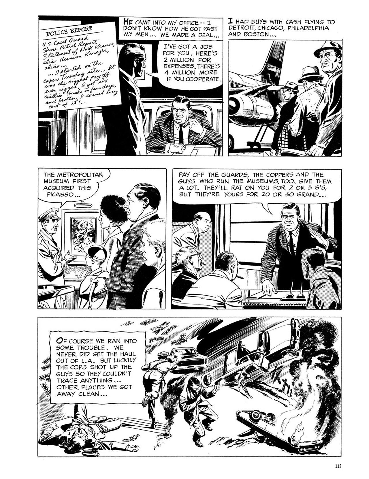 Read online Eerie Archives comic -  Issue # TPB 3 - 114