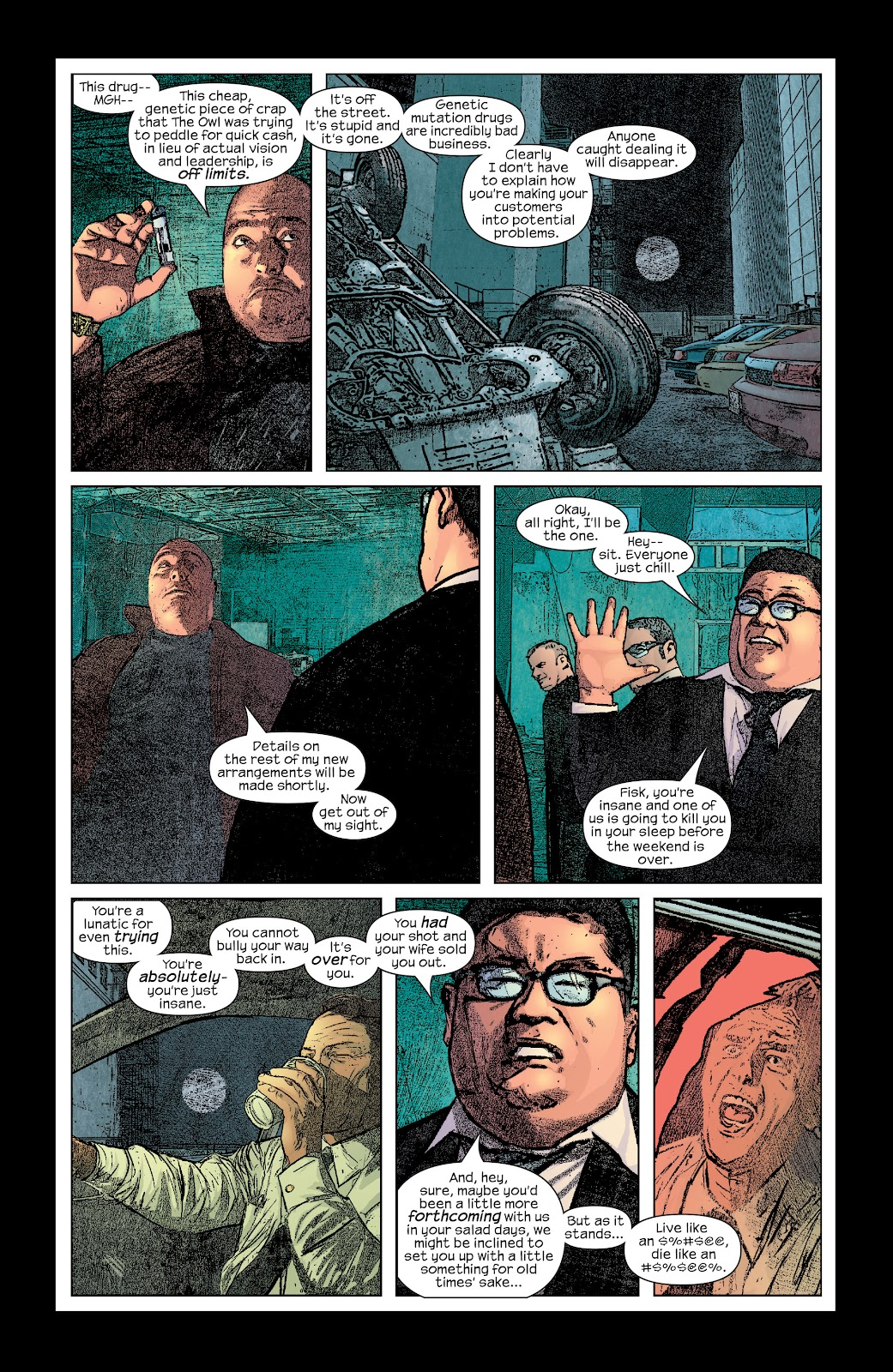 Read online Daredevil (1998) comic -  Issue # _Ultimate_Collection TPB 2 (Part 3) - 11