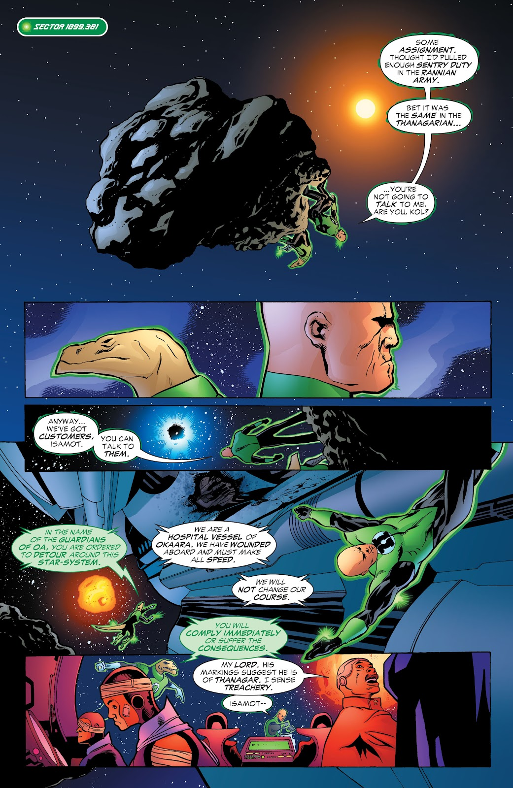 Read online Green Lantern by Geoff Johns comic -  Issue # TPB 1 (Part 3) - 16