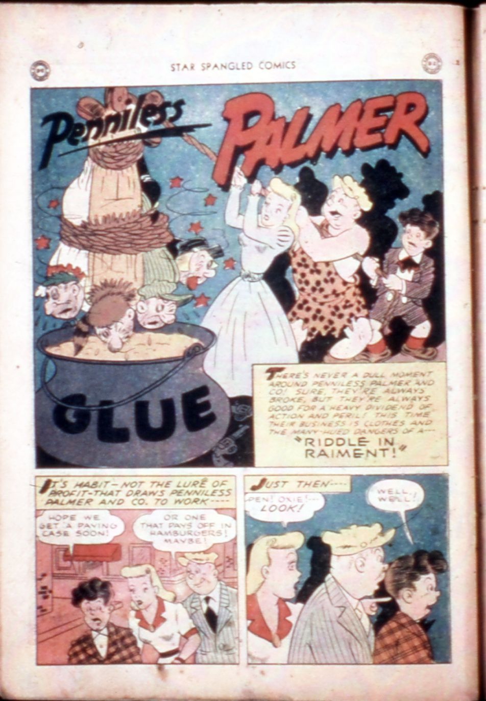 Star Spangled Comics (1941) issue 43 - Page 14