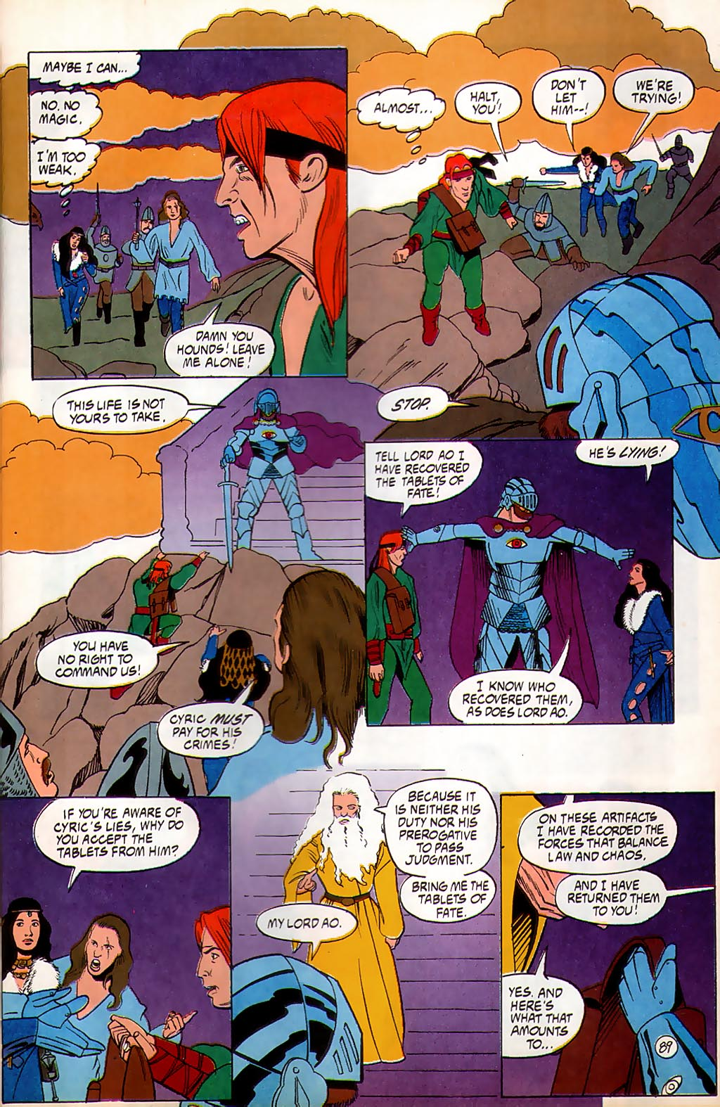 Read online Avatar comic -  Issue #3 - 90