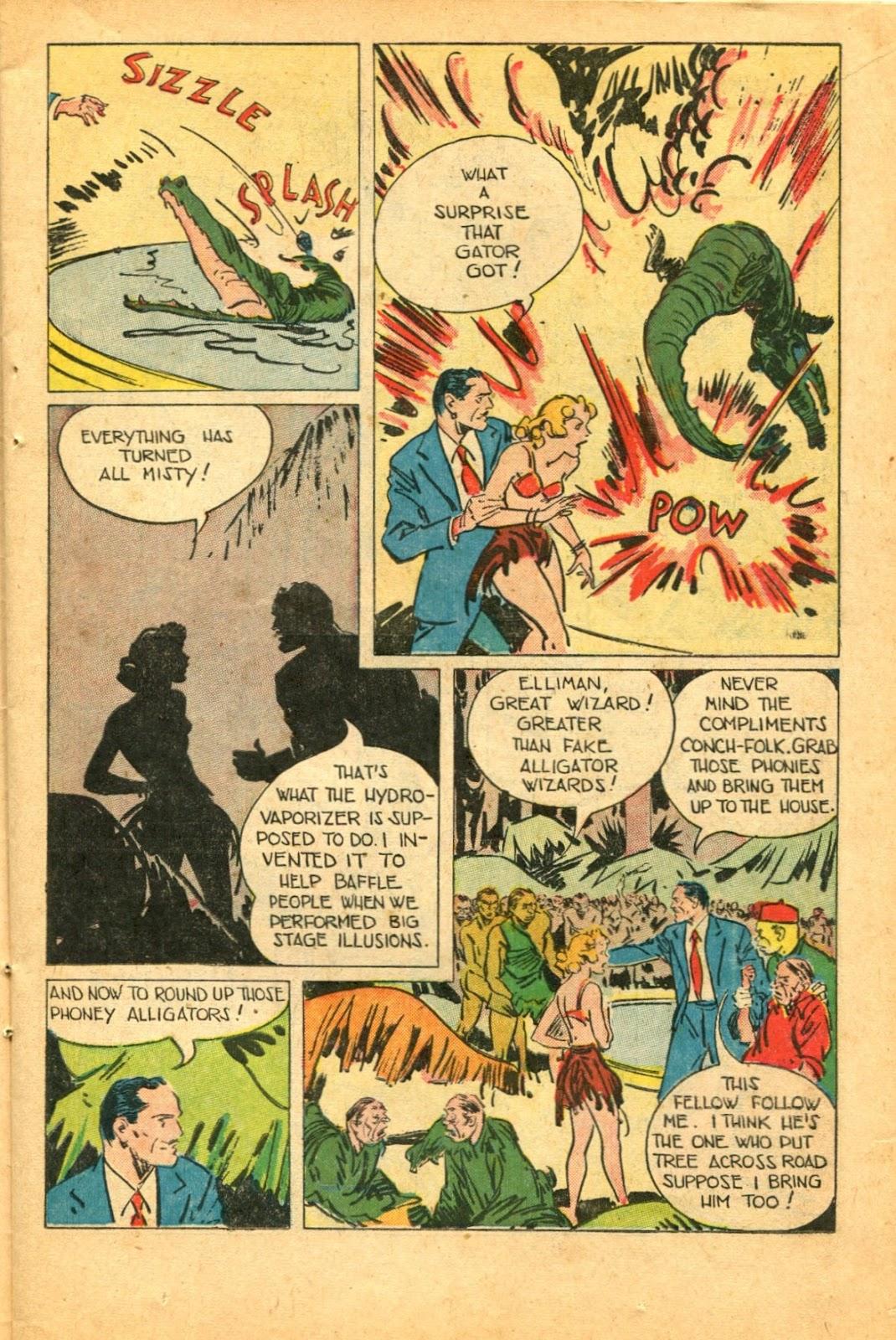 Read online Super-Magician Comics comic -  Issue #49 - 15