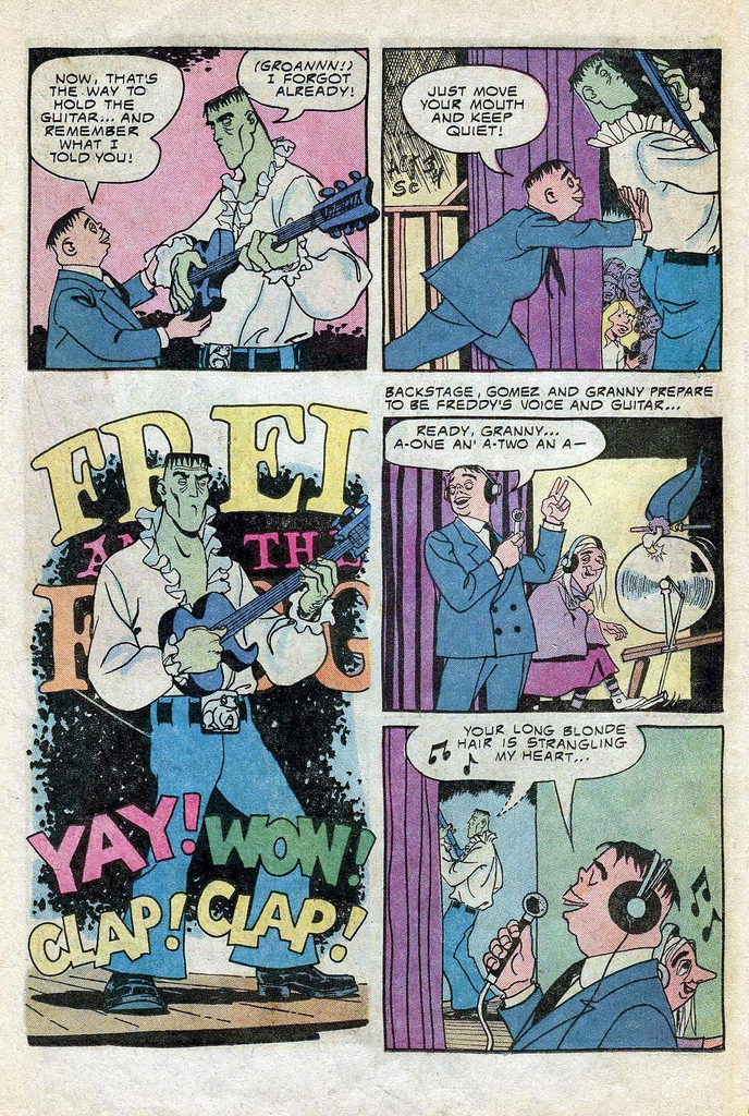 Read online Addams Family comic -  Issue #3 - 19