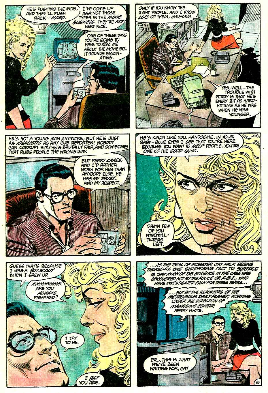 Read online Adventures of Superman (1987) comic -  Issue #428 - 5